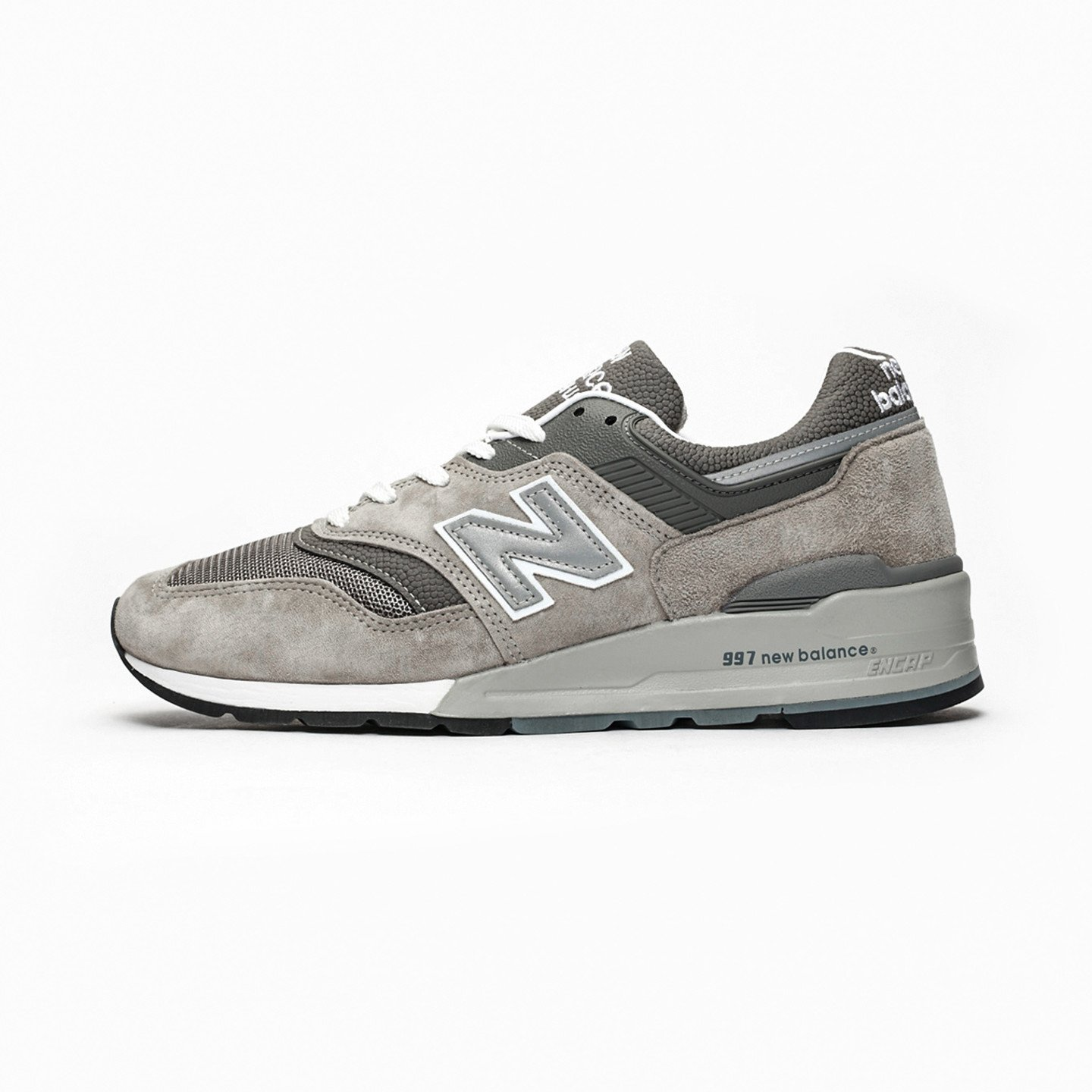 New Balance M997 - Made in USA Grey / White M997GY