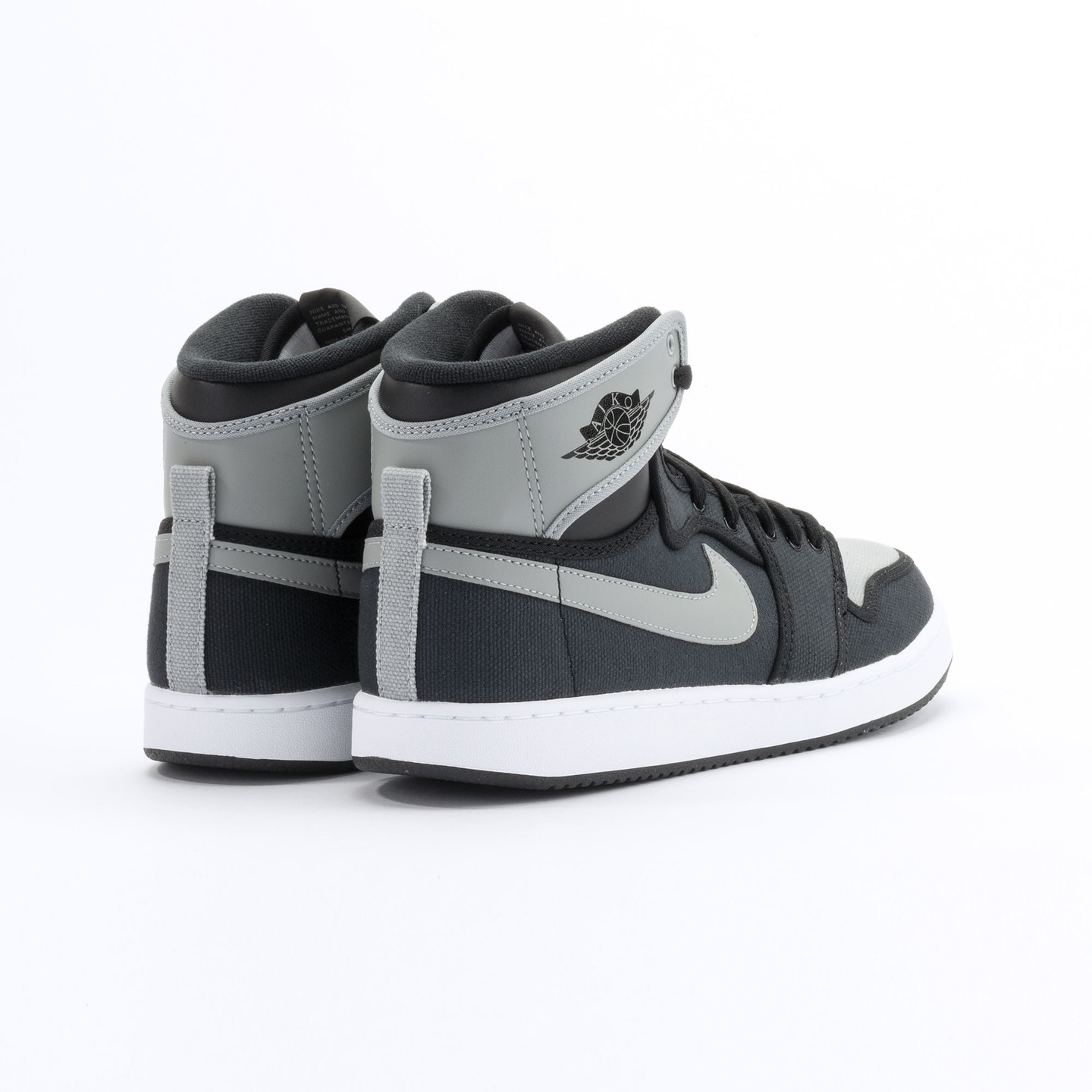 Nike Air Jordan 1 KO High OG Black / Shadow Grey / White 638471-003-42.5