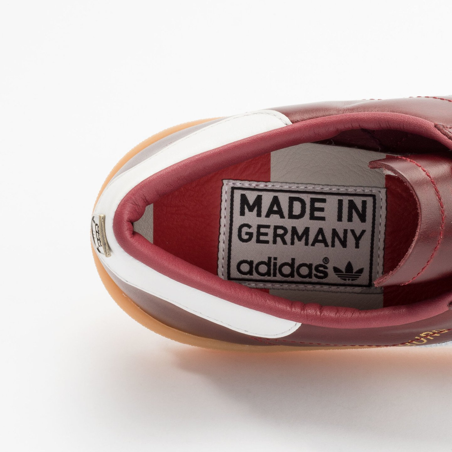 Adidas Hamburg - Made in Germany Burgundy / White / Gold / Gum S31603-42