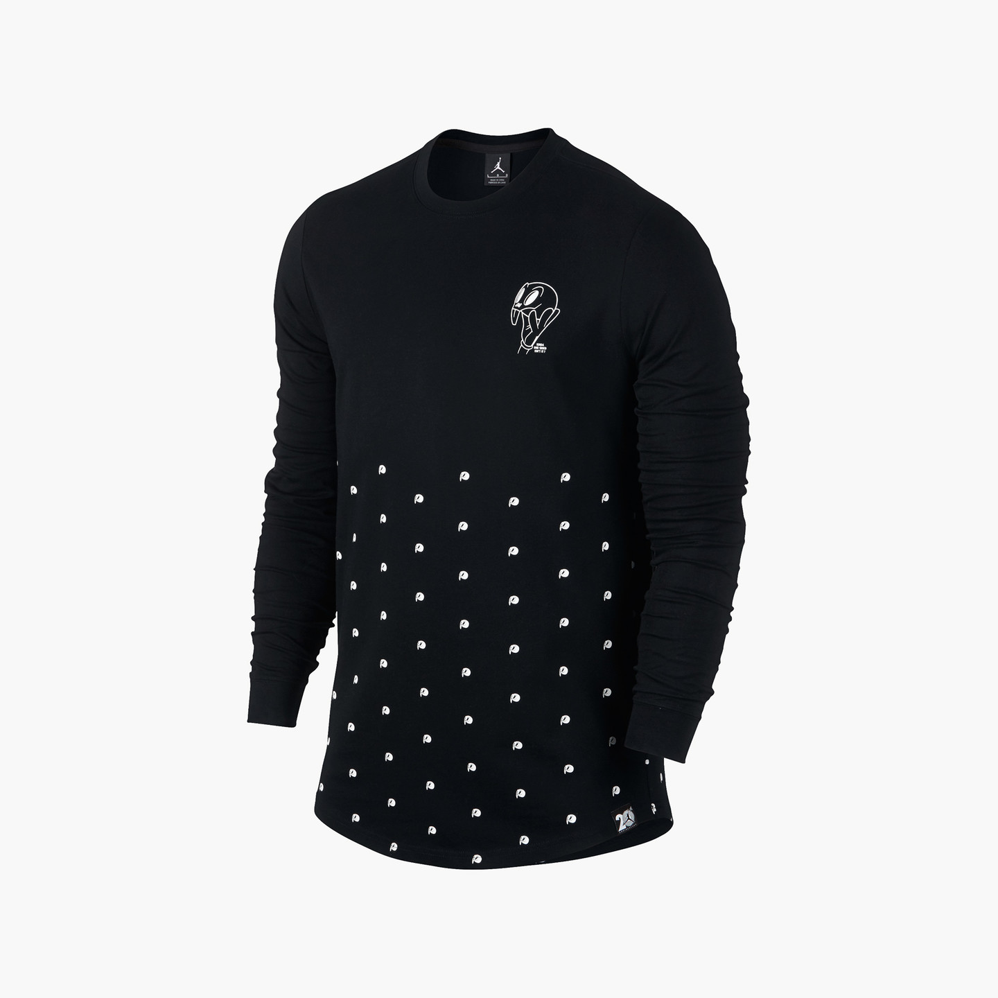 Jordan Air Jordan 11 Longsleeve Black / White 819121-010-L