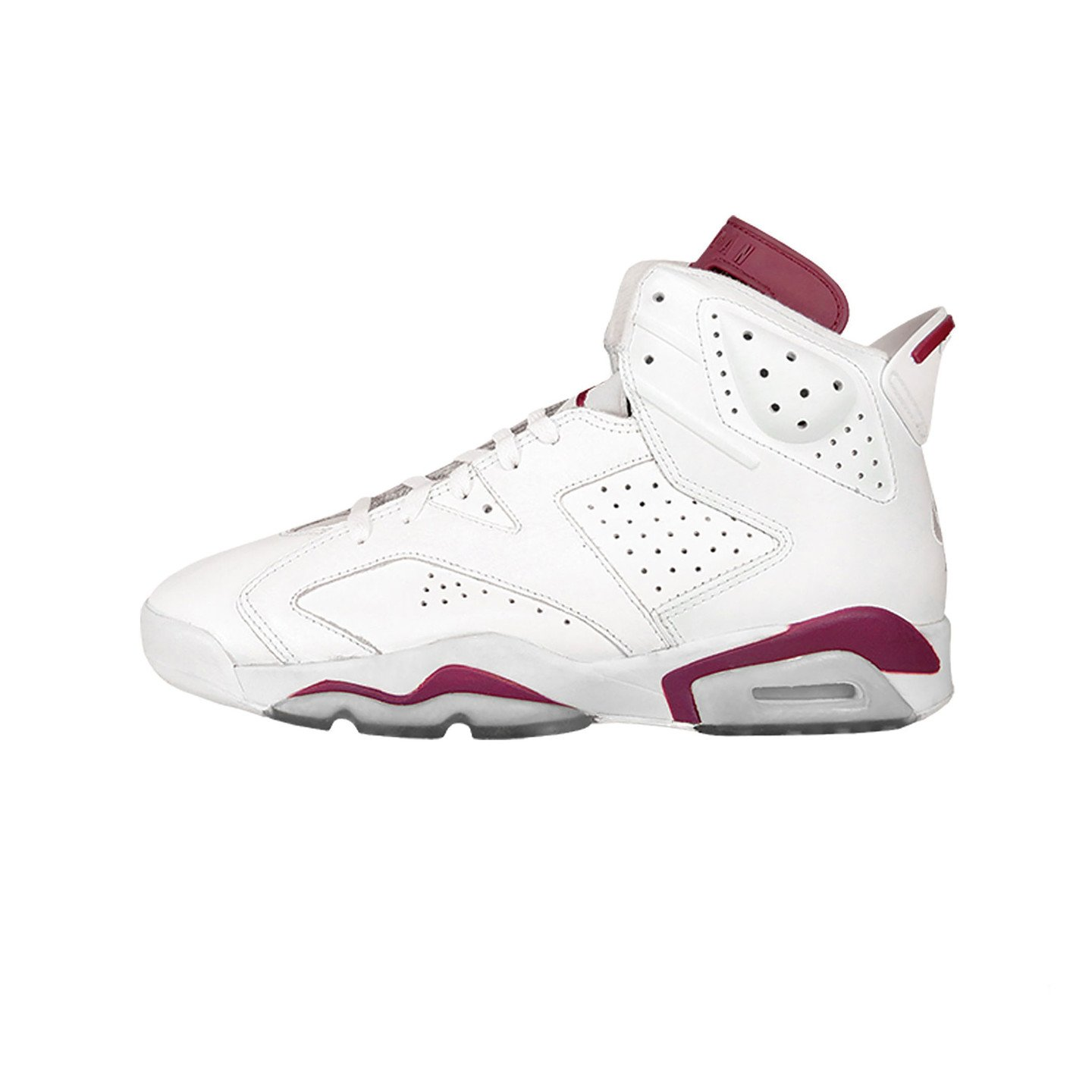 Jordan Air Jordan 6 Retro GS ´Maroon´ Off White / New Maroon 384665-116-39