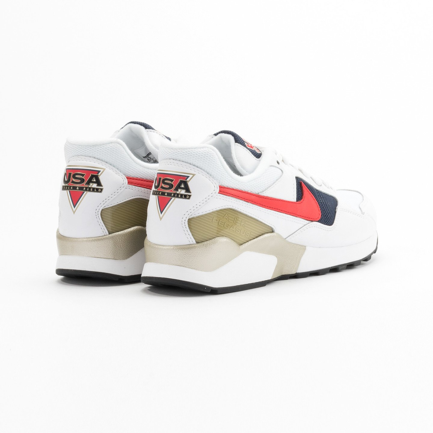 Nike Air Pegasus ´92 Premium White / University Red / Midnight Navy 844964-100-46