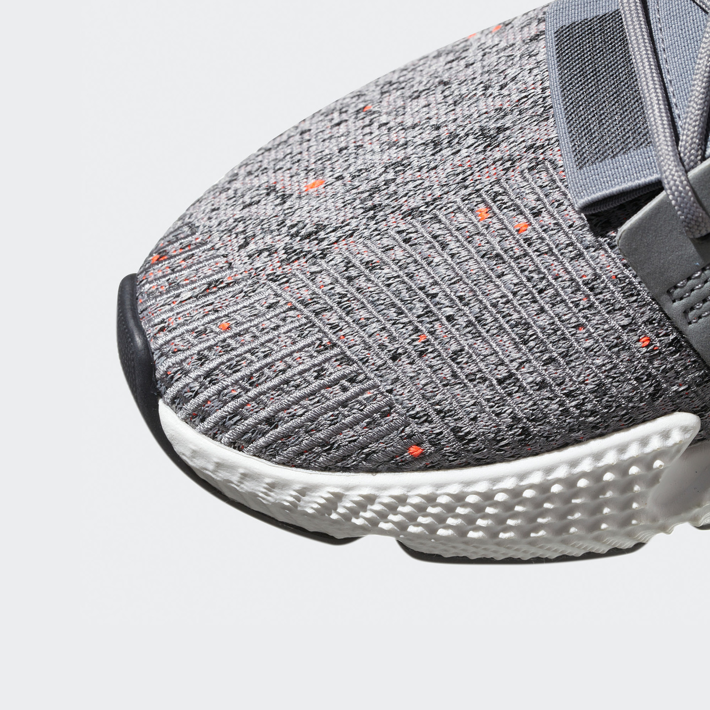 Adidas Prophere Grey / Ftwr White / Solar Red CQ3023