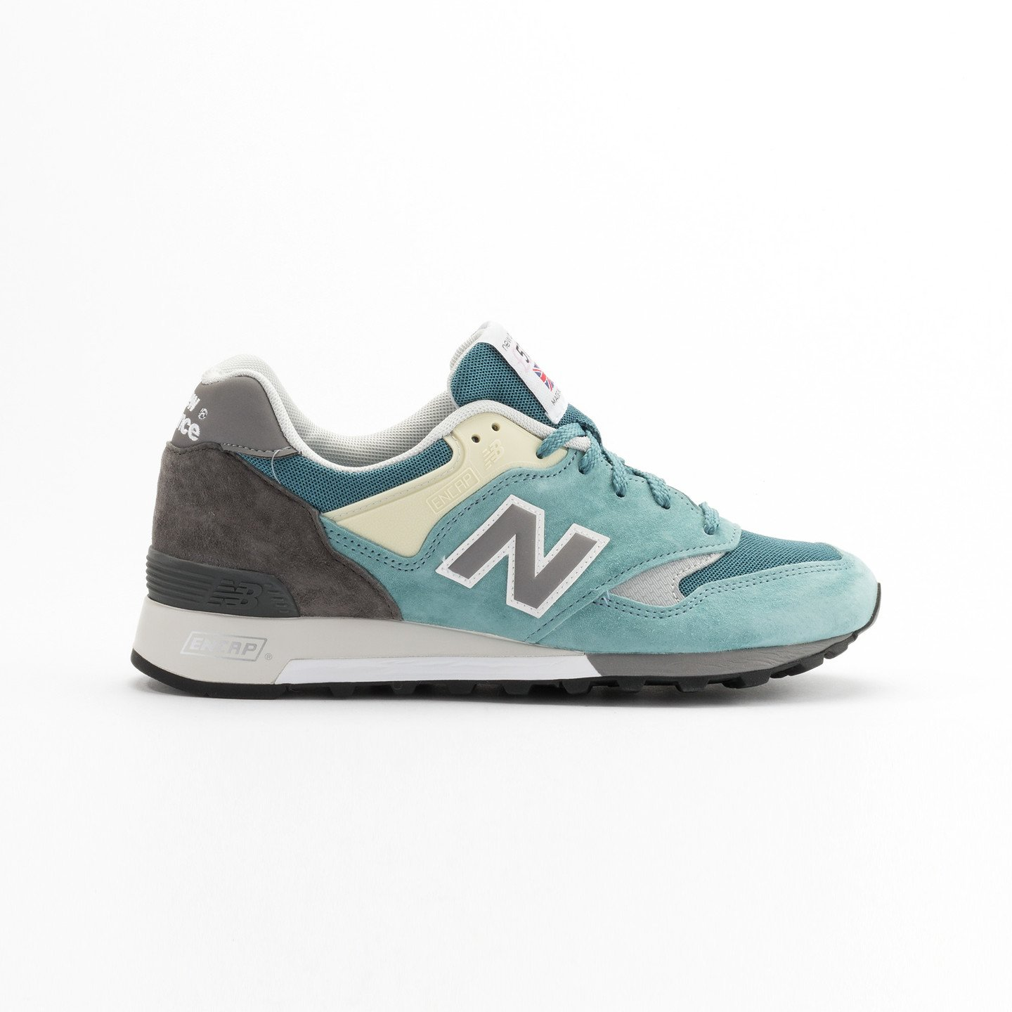 New Balance M577 ETB - Made in England Sea Glass / Grey/ Yellow M577ETB-45