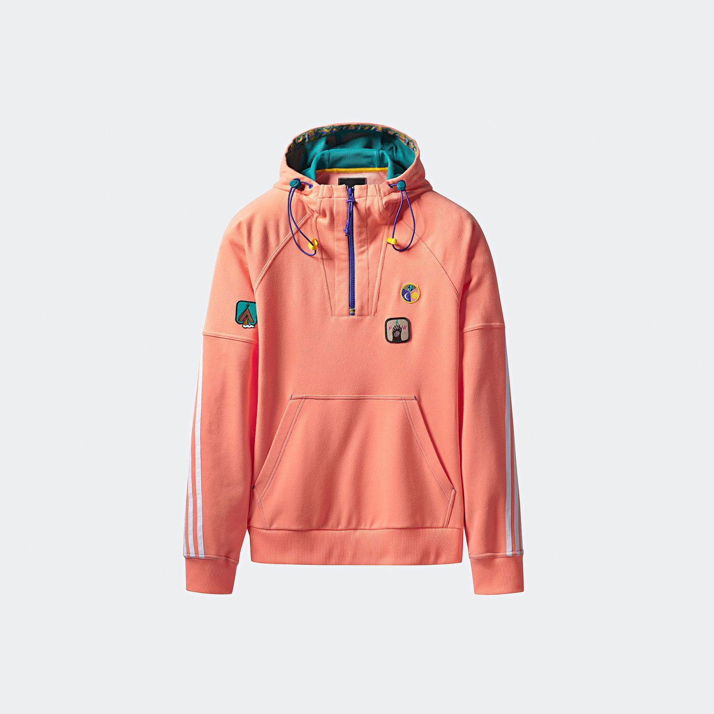 Adidas Pharrell Williams 'Human Race' Hoodie Sun Glow / EQT Green CE9484