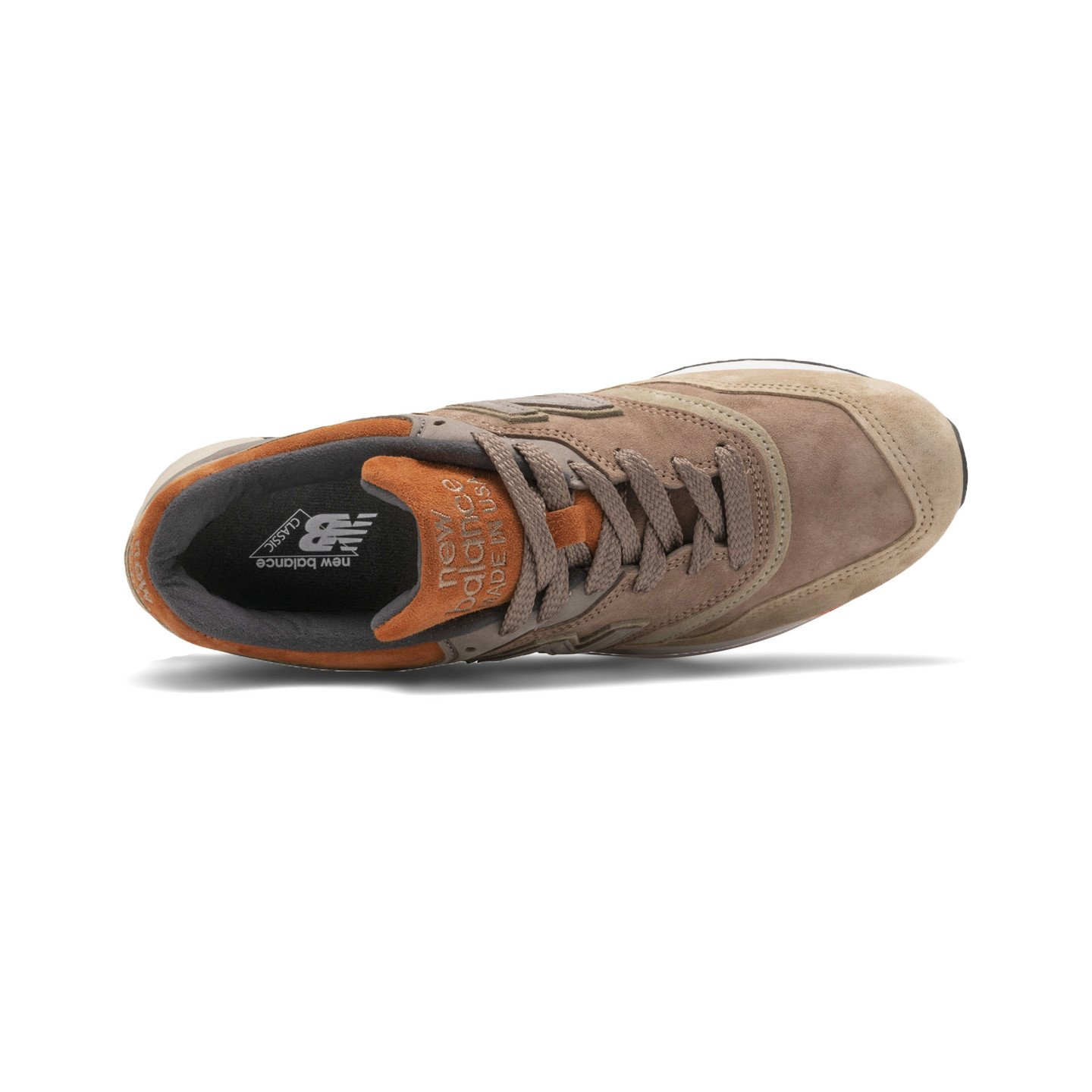 New Balance M997 - Made in USA Tan / Brown / Autumn Orange M997NAJ