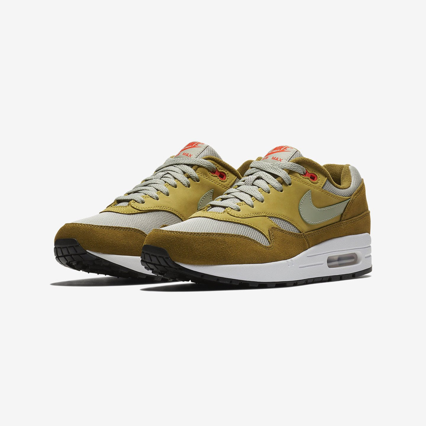 Nike Air Max 1 Premium Atmos 'Green Curry' Olive Flak / Spruce Fog / Peat Moss 908366-300