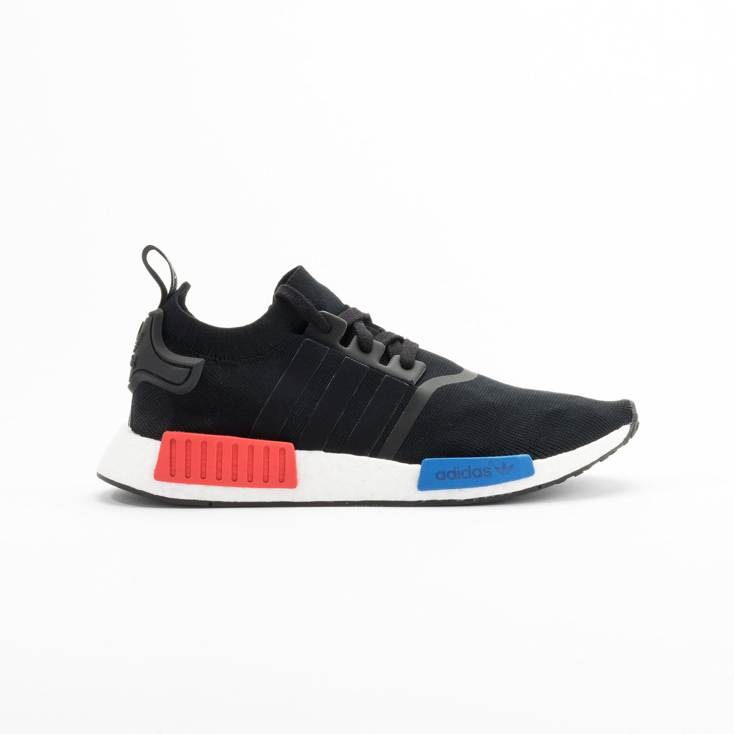 Adidas NMD Runner PK Primeknit Black / Red / Blue / White S79168-44.66
