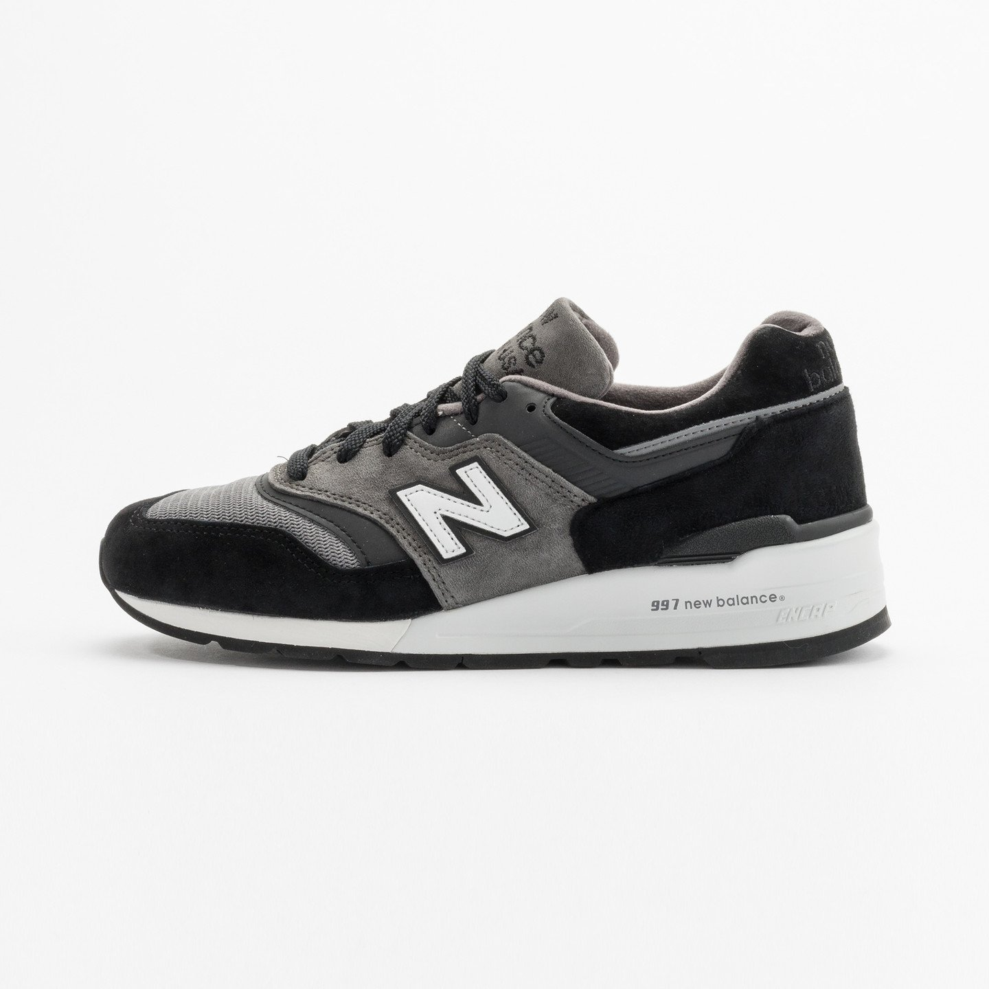 New Balance M997 Made in USA Grey / Black / White M997CUR-42.5