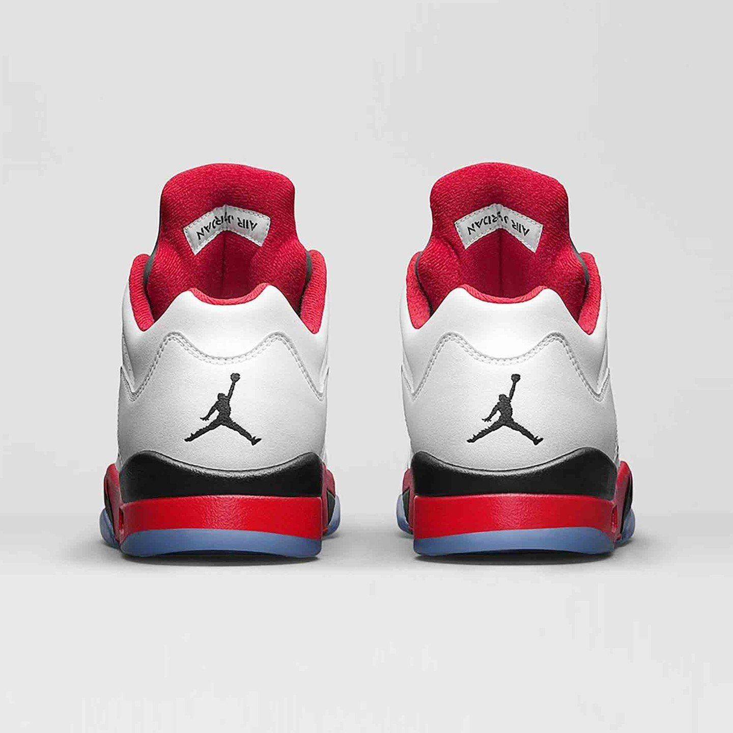 Jordan Air Jordan 5 Low Retro 'Fire Red' White / Fire Red / Black 819171-101-46