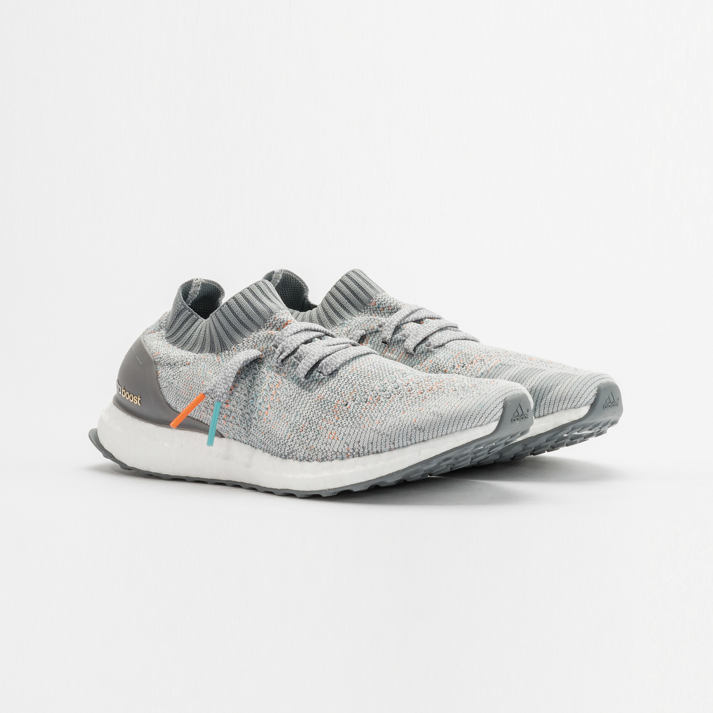 Adidas Ultra Boost Uncaged 'Miami Dolphins' Clear Grey / Mid Grey / Orange / Aqua BB4489-46.66
