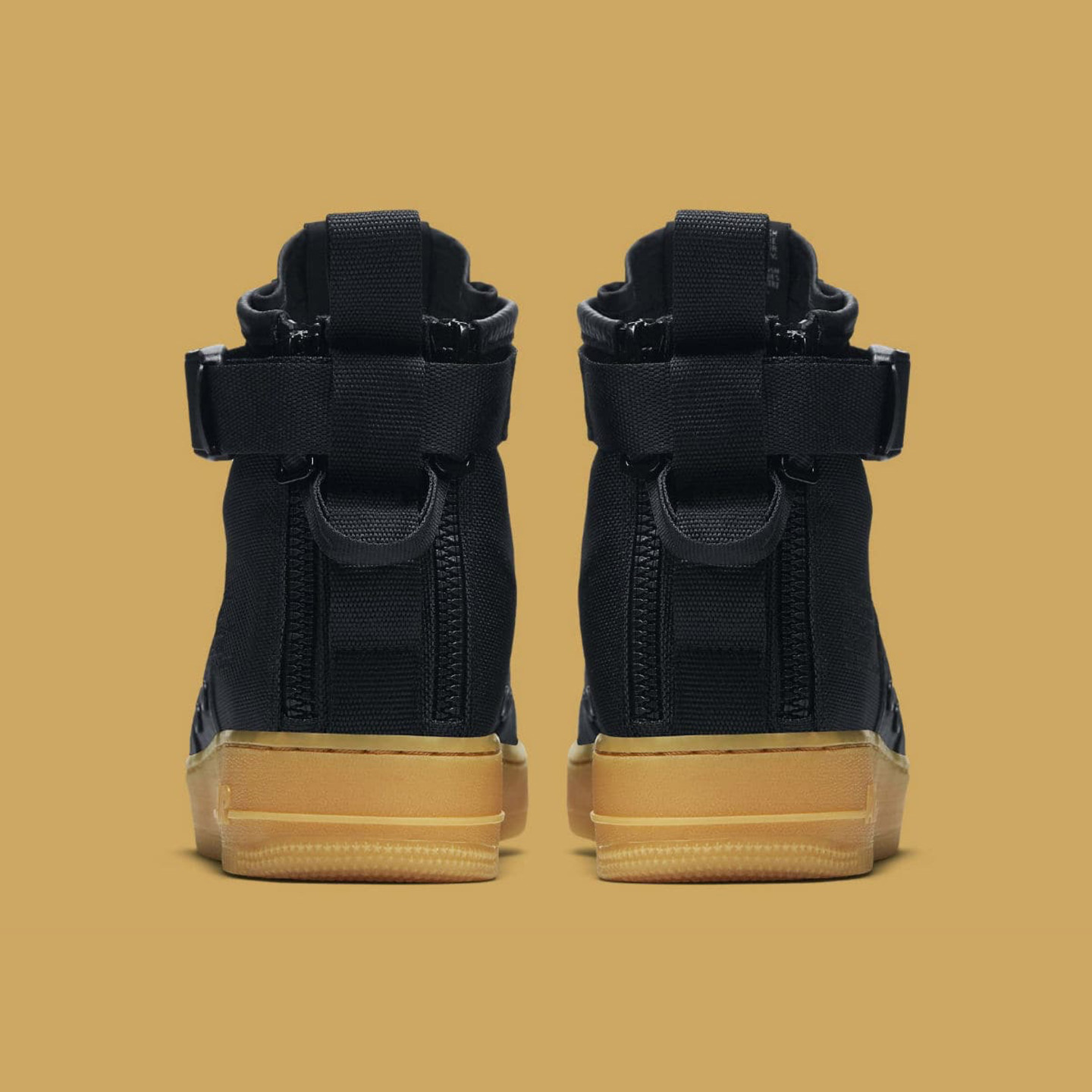 Nike SF Air Force 1 Mid Black / Gum 917753-003