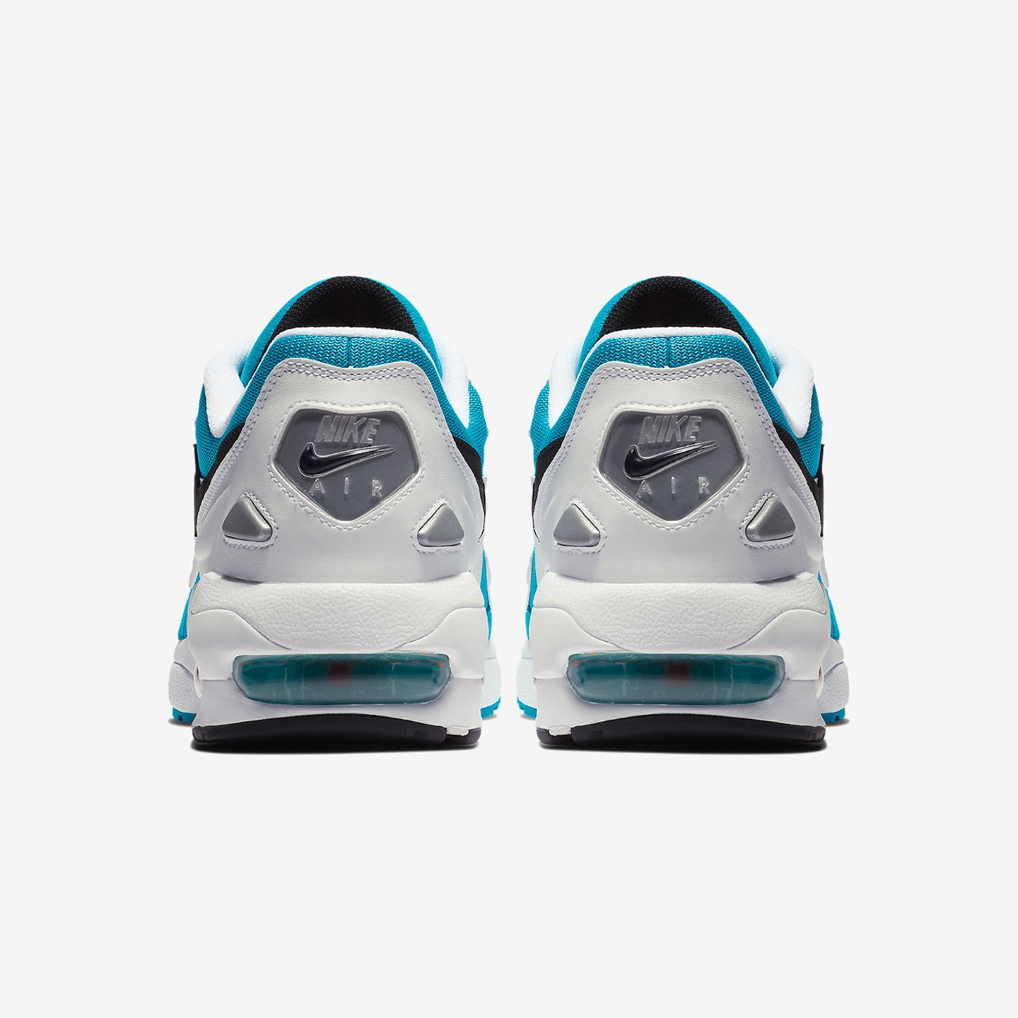 Nike Air Max 2 Light White / Black / Blue Lagoon / Laser Orange AO1741-100