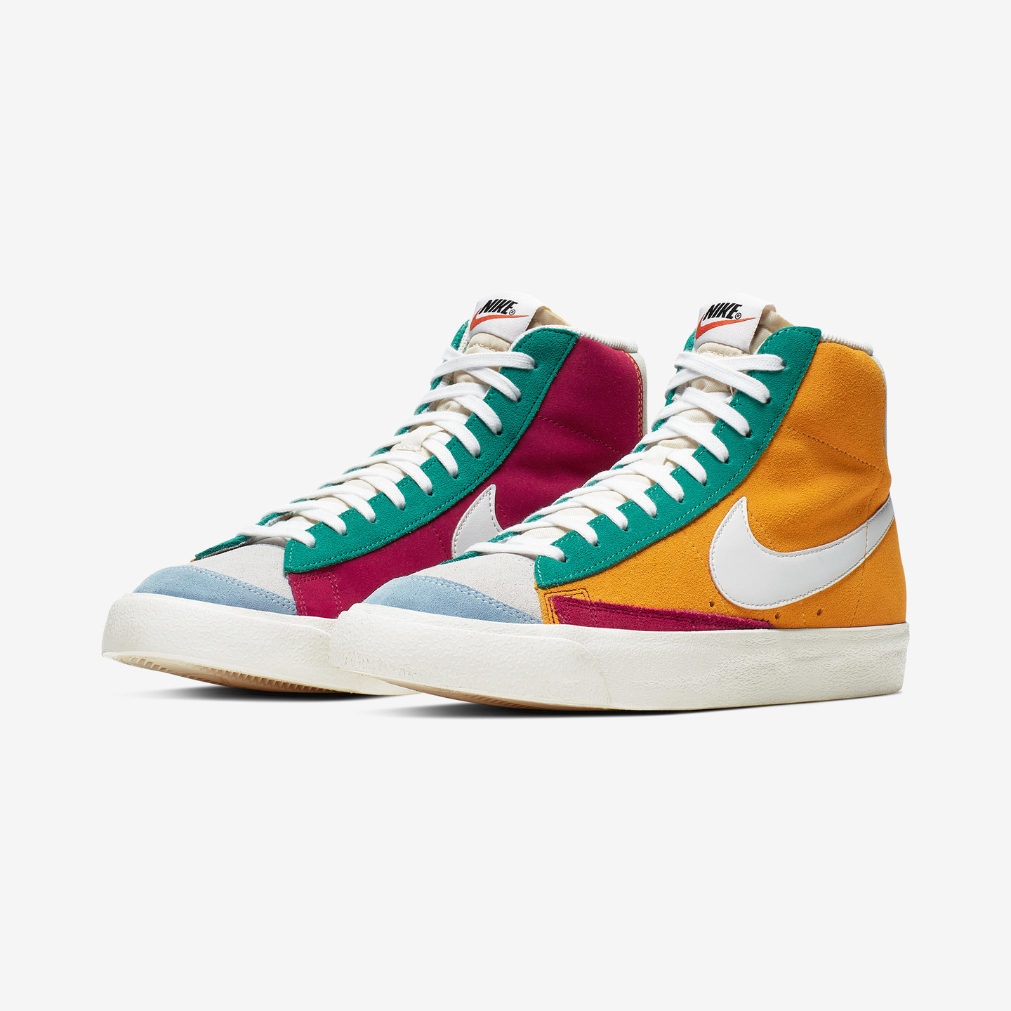 Nike Blazer Mid ´77 VNTG Suede Noble Red / Kinetic Green / Jade Aura CI1167-600