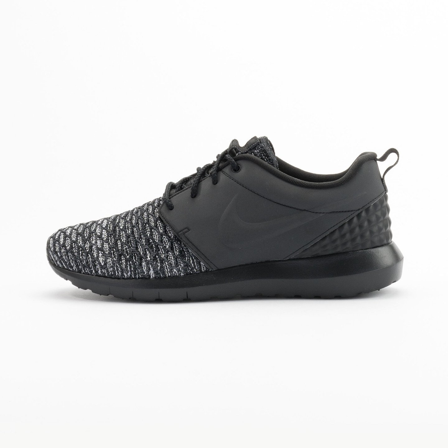 Nike Roshe NM Flyknit Premium Black / Black / Dark Grey / White 746825-002-42