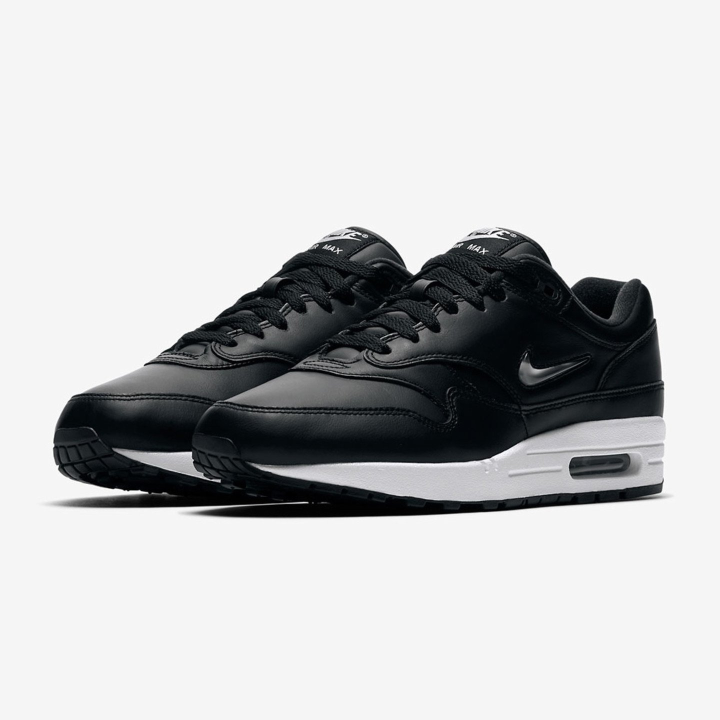 Nike Air Max 1 SC Jewel Black / Metallic Silver 918354-001