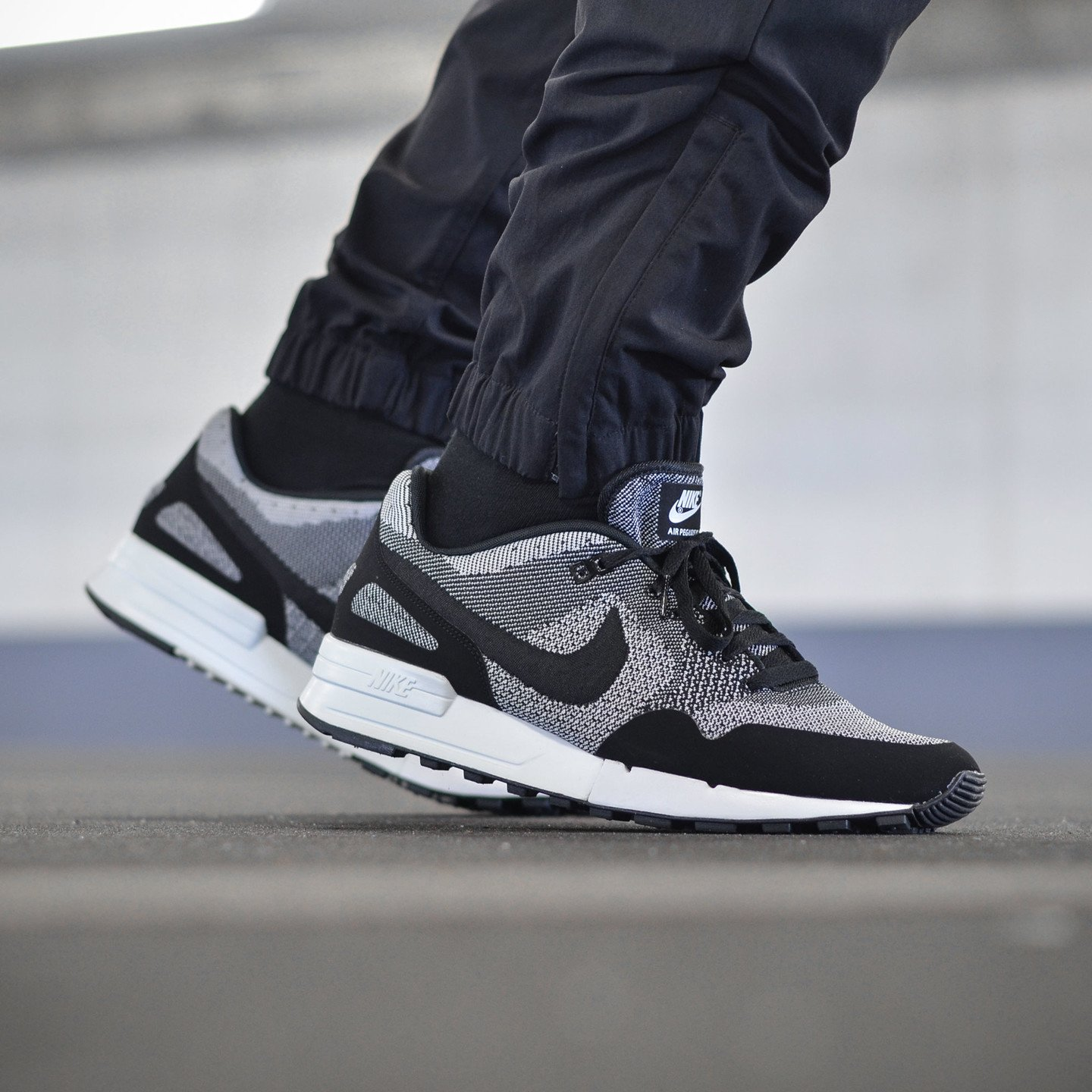 Nike Air Pegasus ´89 Jacquard Black / White 844751-001-45