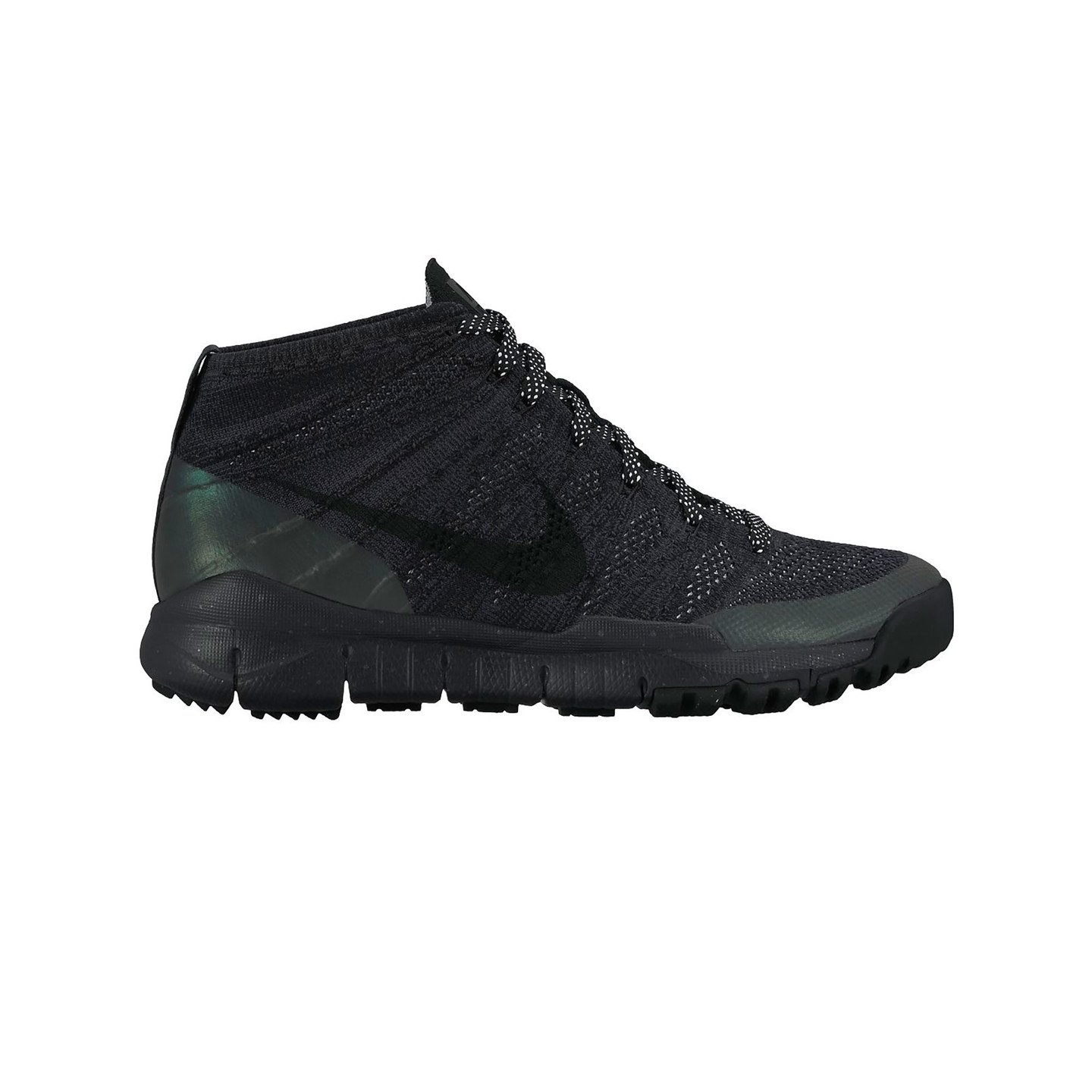 Nike Flyknit Trainer Chukka Sneakerboot Black / Anthracite 805092-001-43