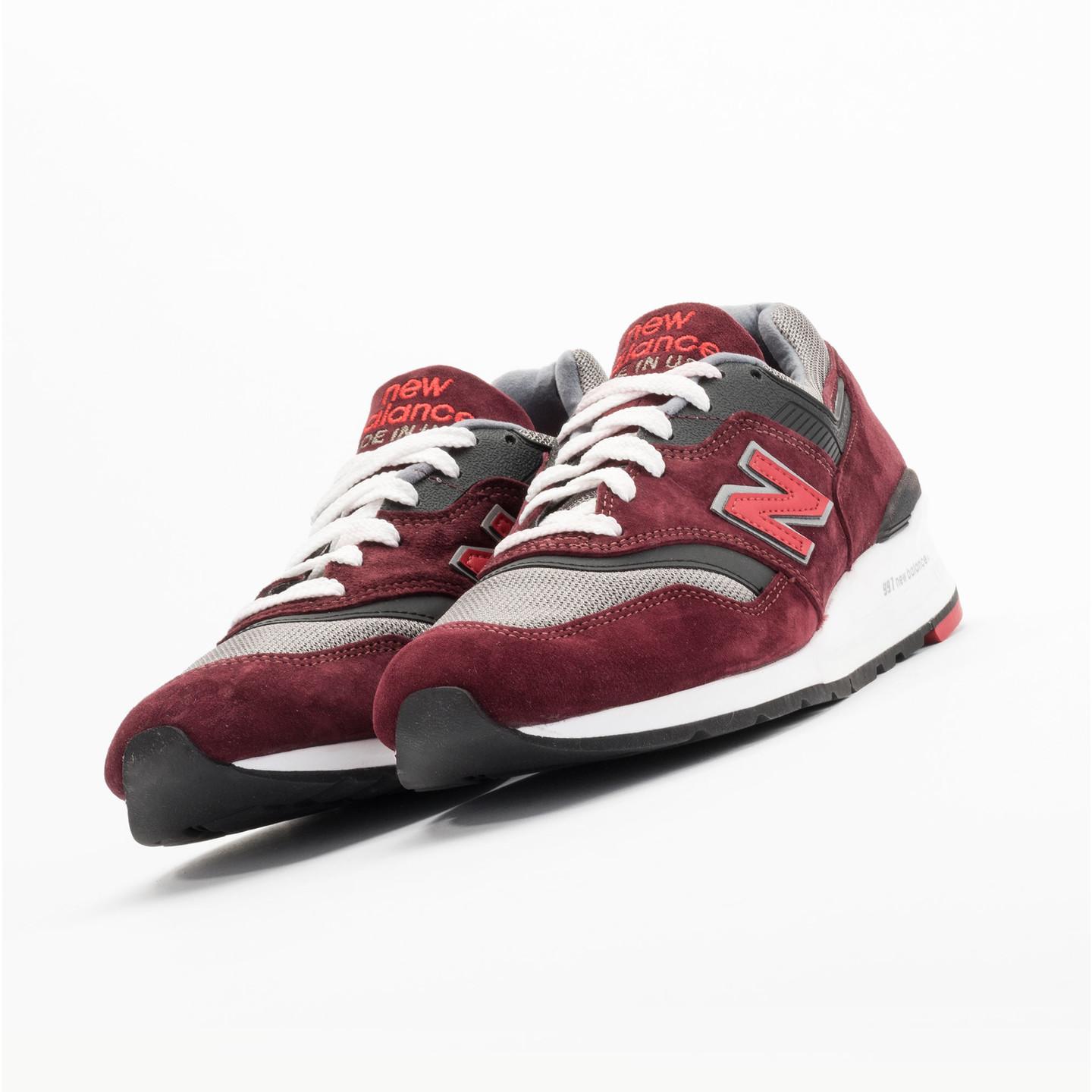 New Balance M997 CRG - Made in USA Brick Red / Black / Grey M997CRG-46.5