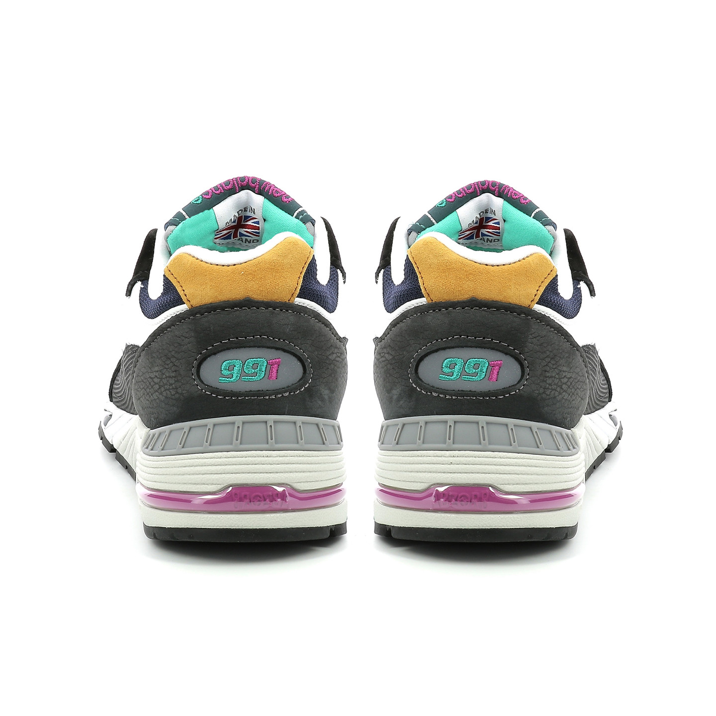 New Balance M991 MM - Made in England Black / Blue / Purple M991MM