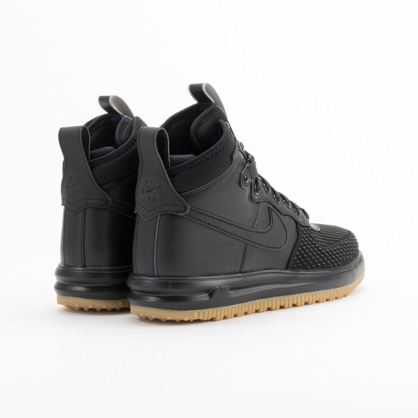 Nike Lunar Force 1 Duckboot Black / Black / Gum 805899-003-43