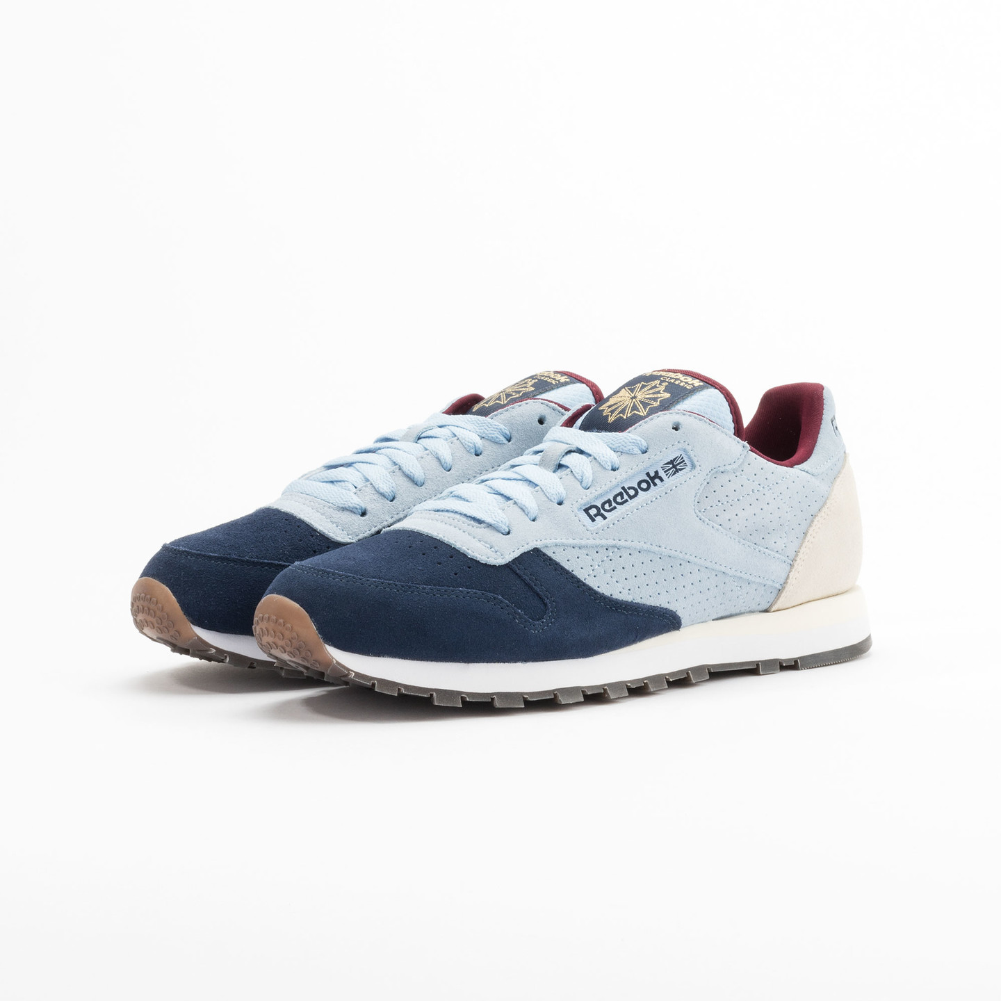 Reebok Classic Leather Int Navy / Light Blue / Sand V66829-42