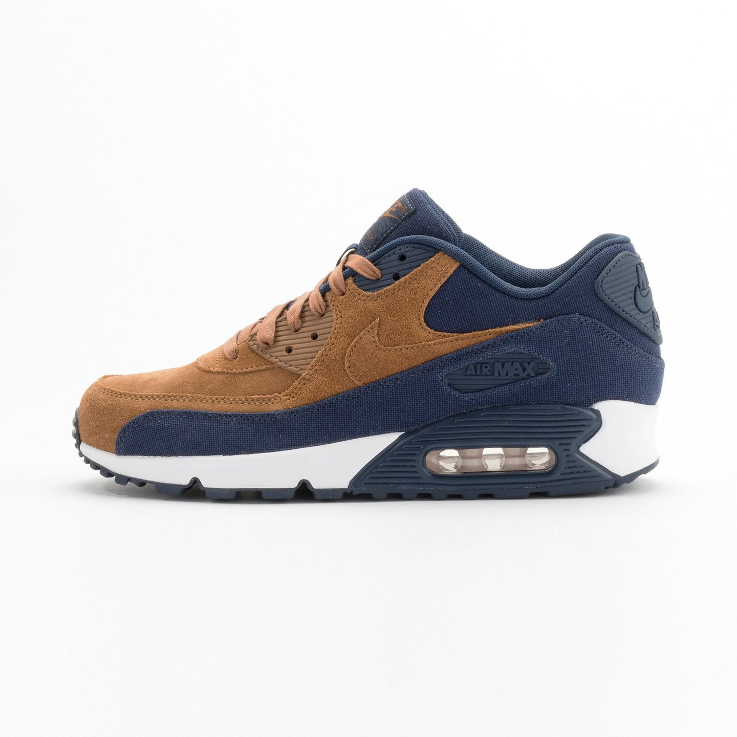 Nike Air Max 90 Premium Ale Brown / Midnight Navy 700155-201-44