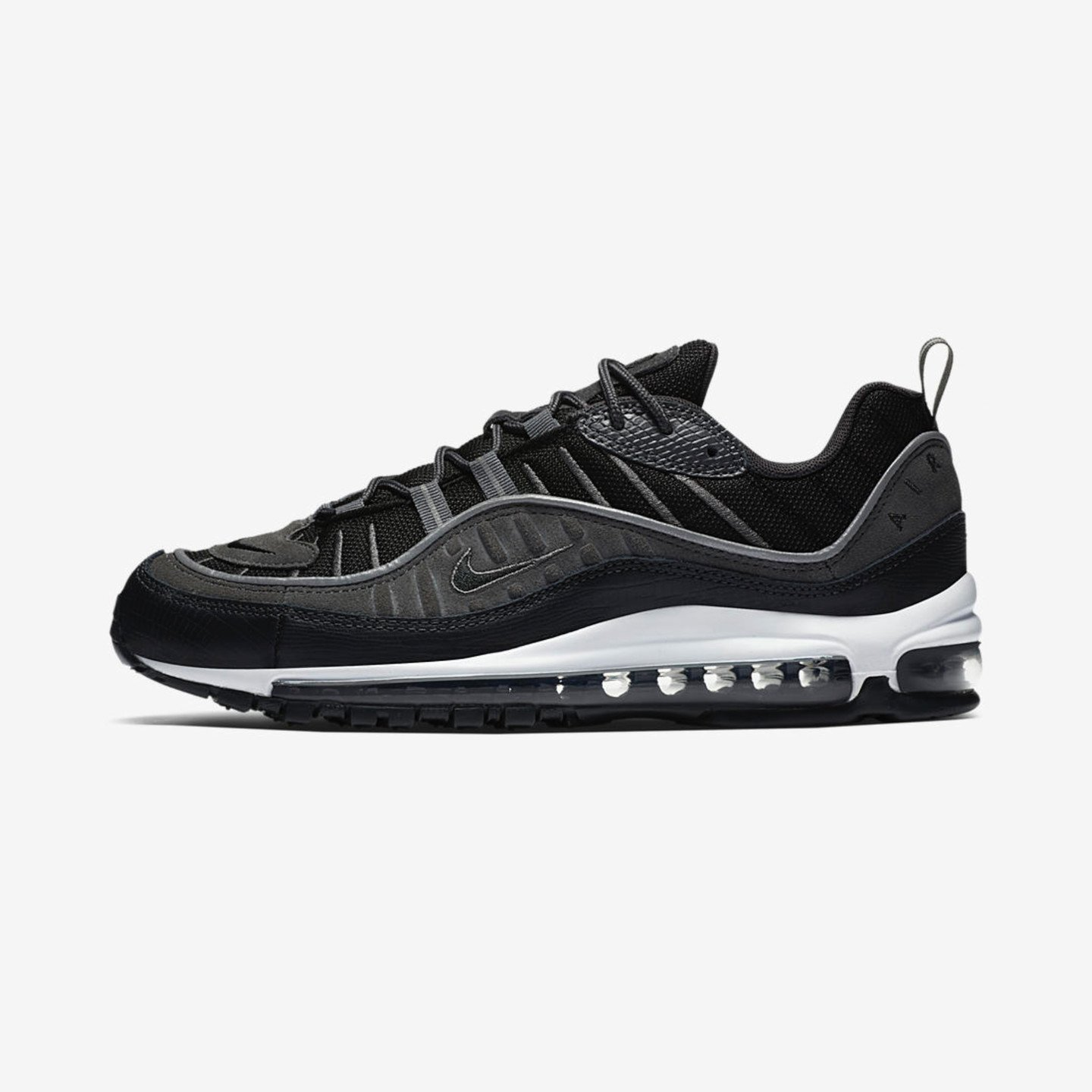 Nike Air Max 98 'Special Edition' Black / Anthracite / Dark Grey / White AO9380-001