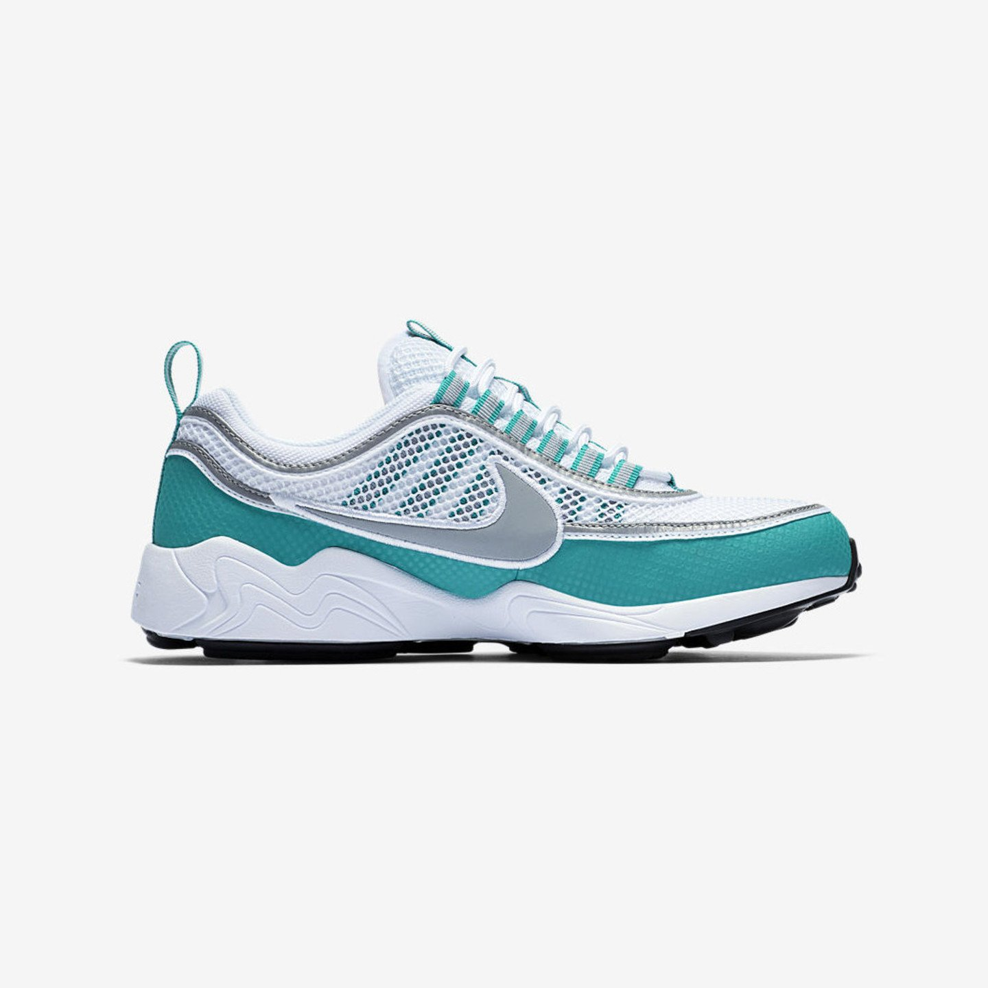 Nike Air Zoom Spiridon White / Silver / Turbo Green / Laser Orange 849776-102