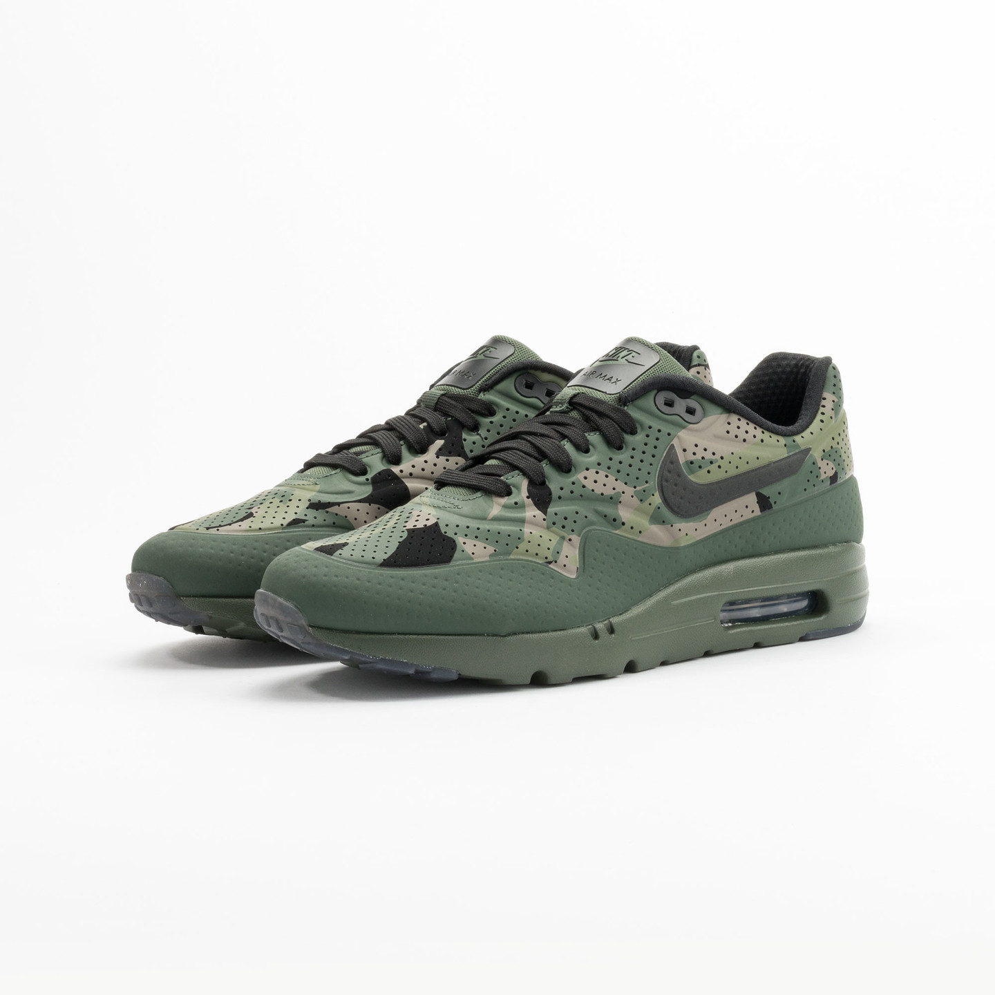 Nike Air Max 1 Ultra Moire Print Camouflage / Carbon Green 806851-300-42.5