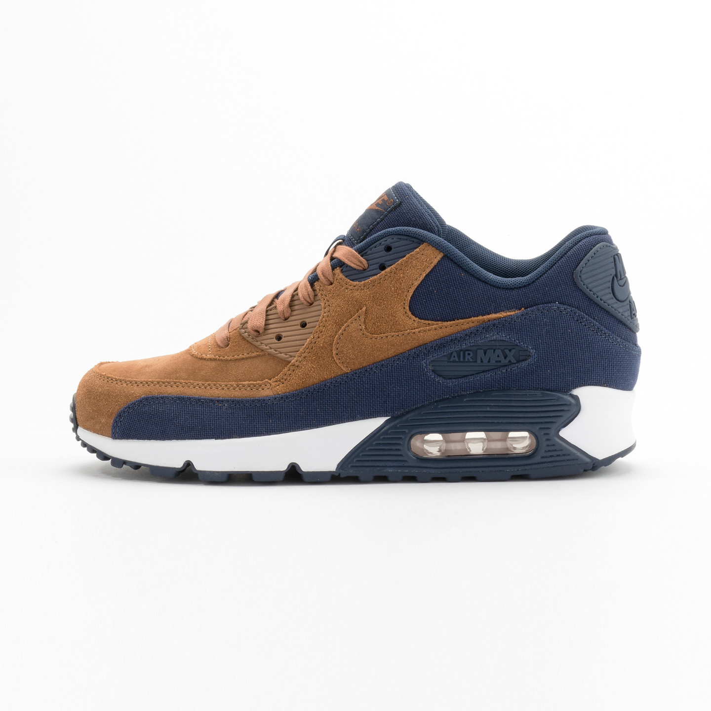 Nike Air Max 90 Premium Ale Brown / Midnight Navy 700155-201-42