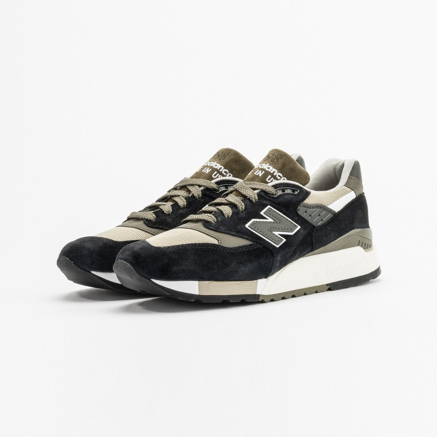 New Balance M998 Made in USA Olive / Black M998CTR-44