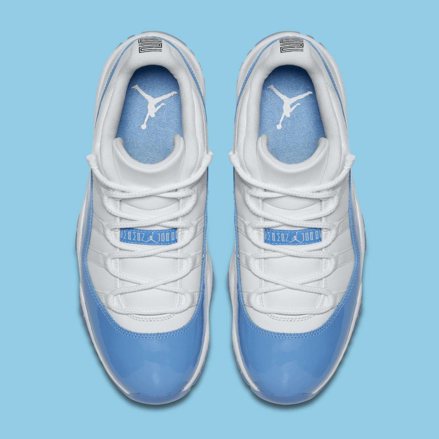 Jordan Air Jordan 11 Retro Low 'UNC' White / University Blue 528895-106-42