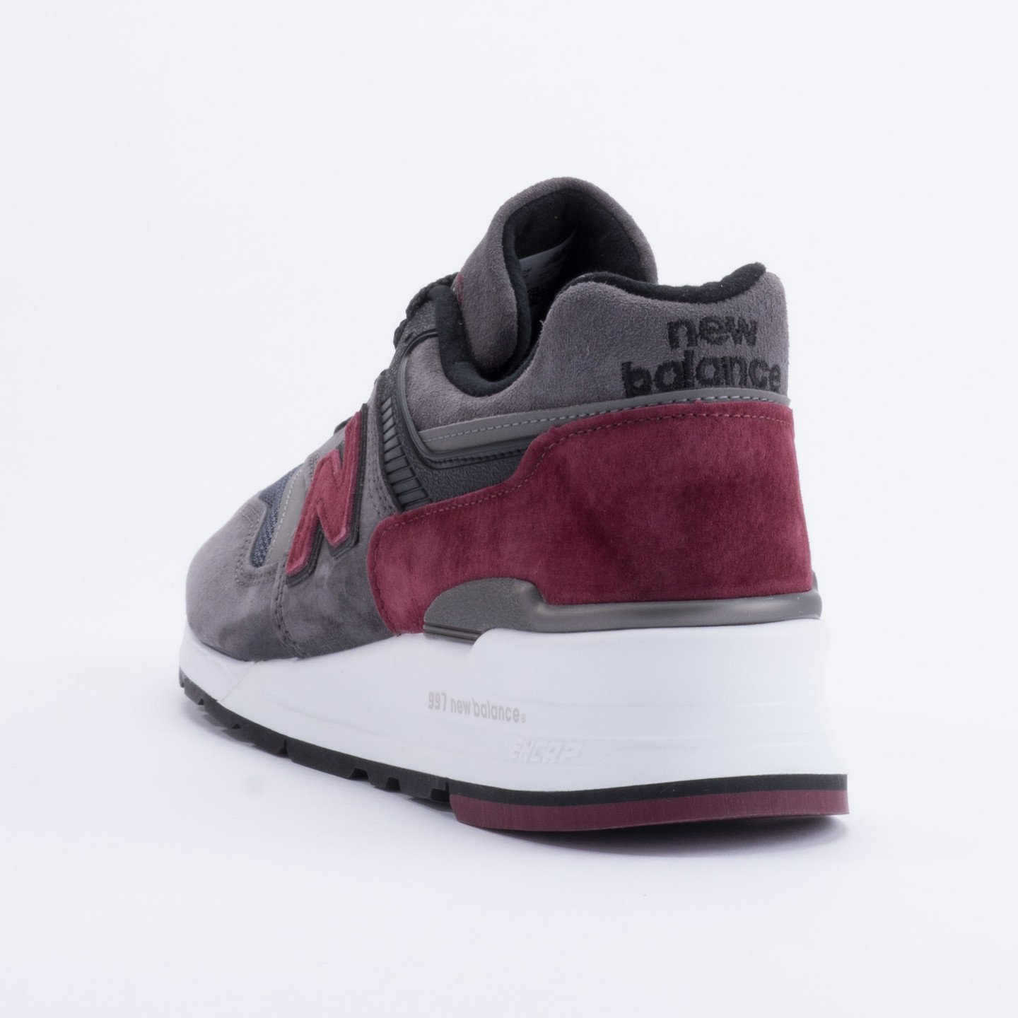 New Balance M997 Made in USA Charcoal/Burgundy M997CCF-44