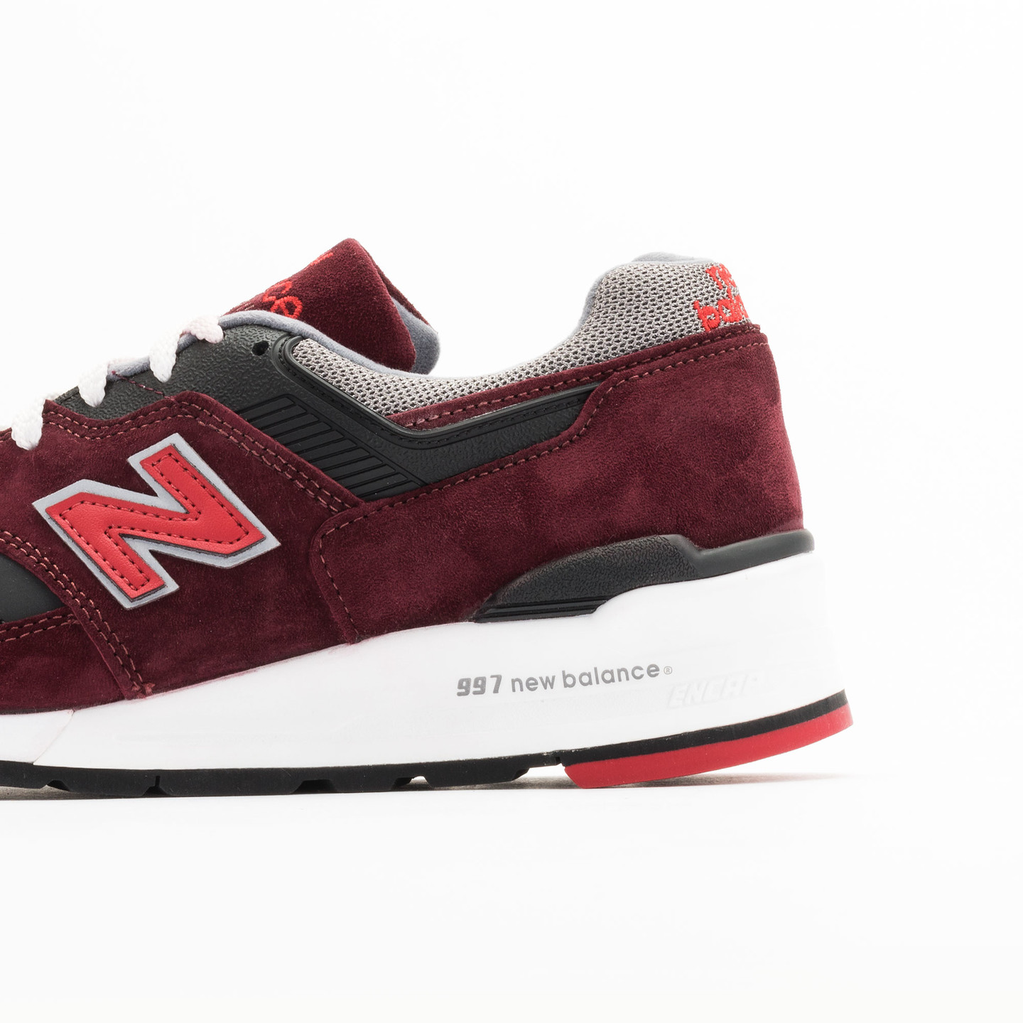 New Balance M997 CRG - Made in USA Brick Red / Black / Grey M997CRG-45
