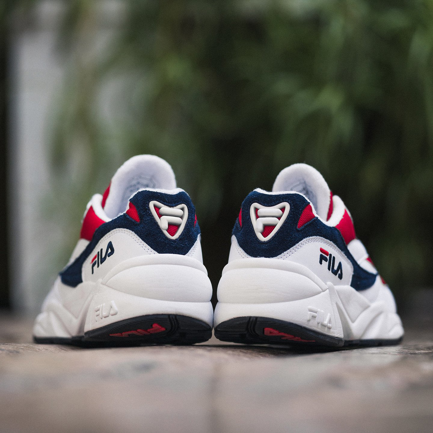 Fila Venom OG Low Wmn White / Fila Navy / Fila Red 1010291-150