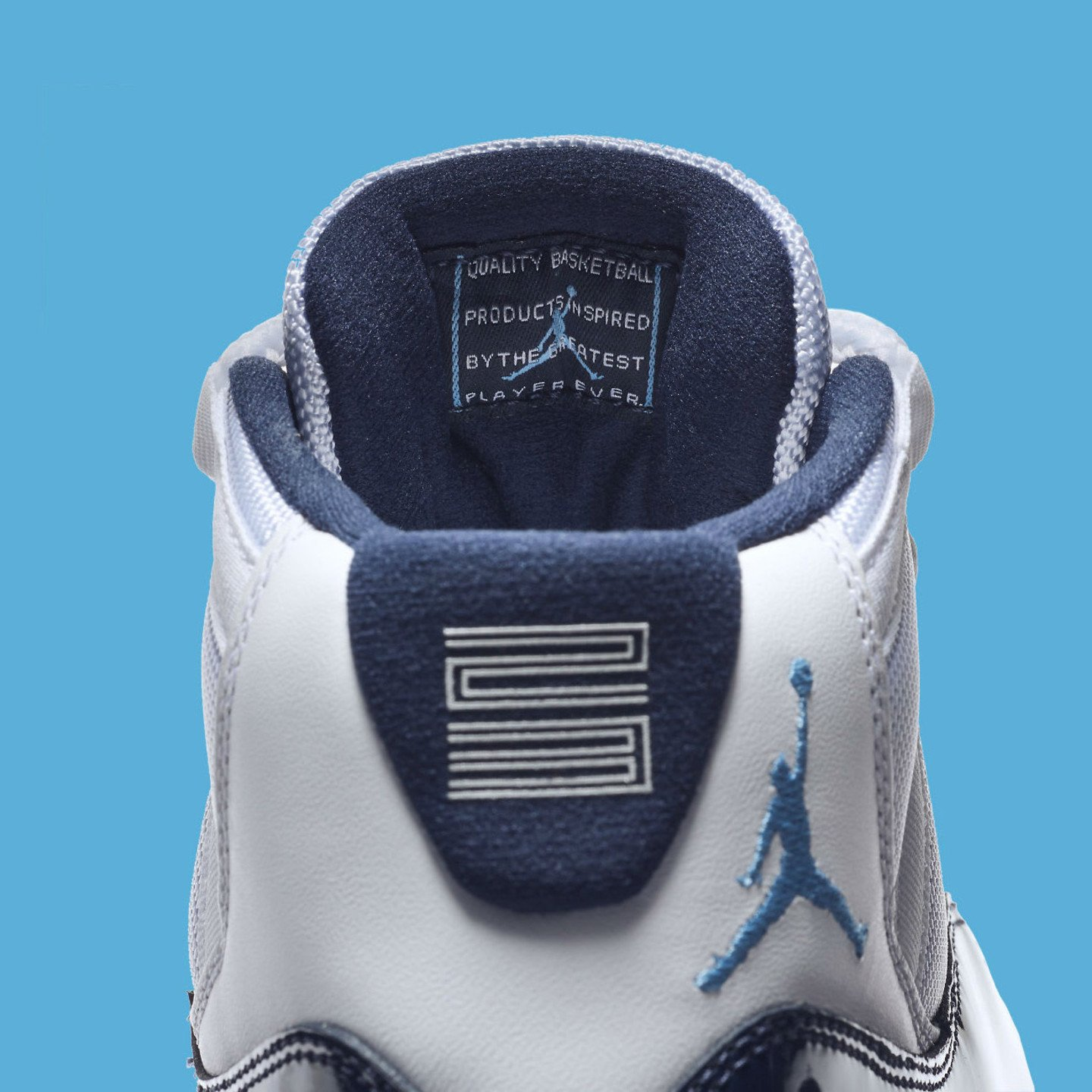 Jordan Air Jordan 11 Retro GS 'Win Like ´82' White / Midnight Navy / University Blue 378038-123
