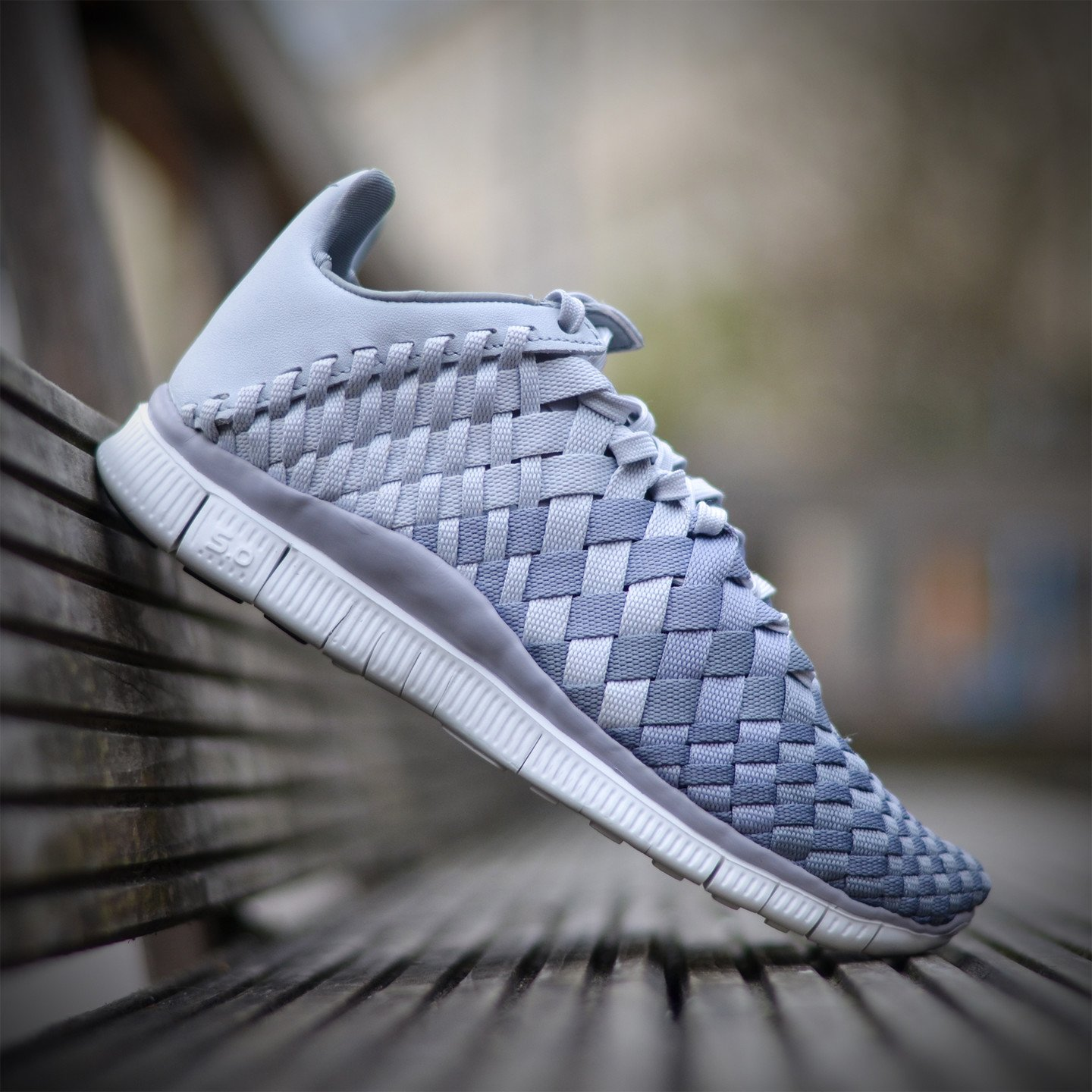 Nike Wmns Free Inneva Woven Pure Platinum / Wolf Grey 833803-001-37.5