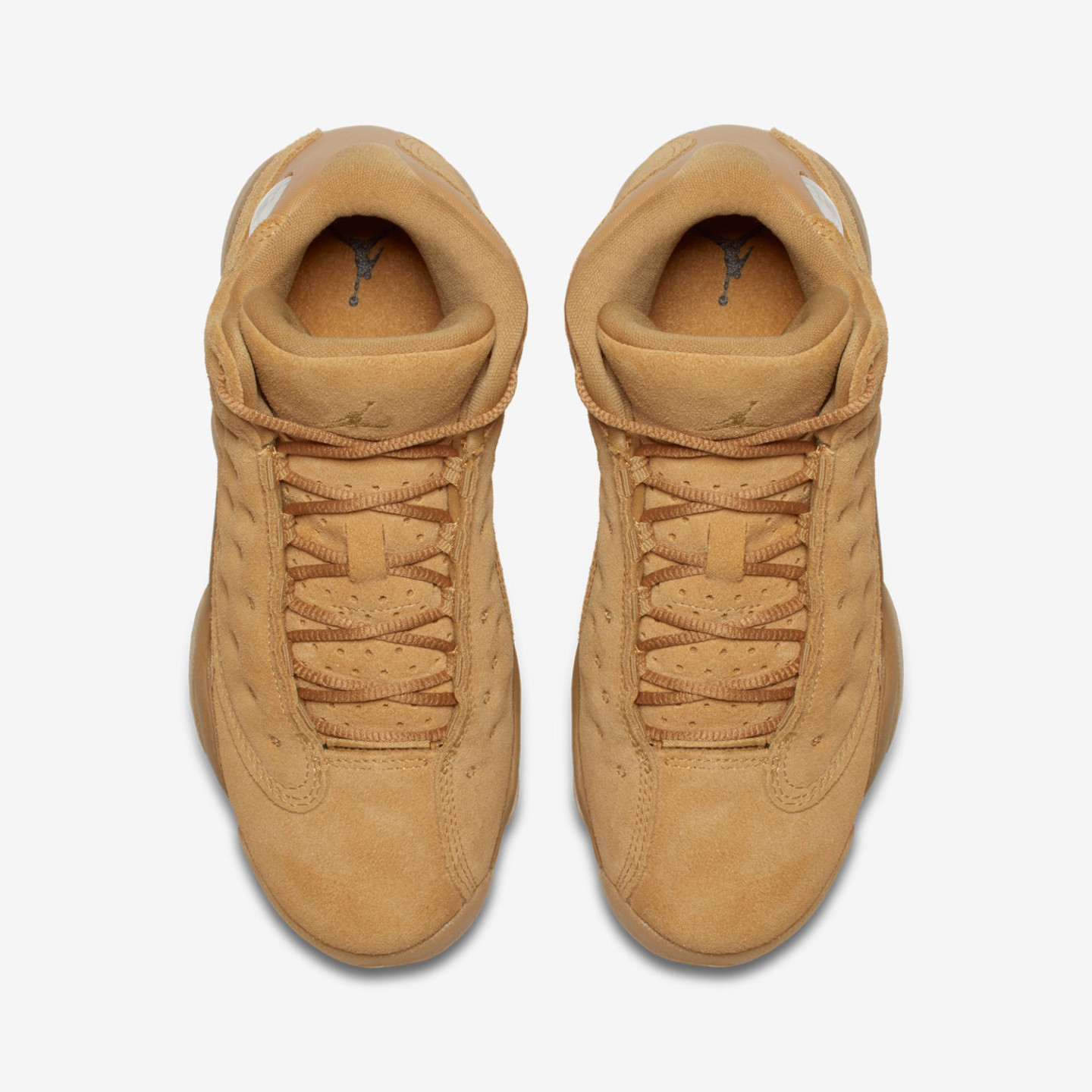 Jordan Air Jordan 13 Retro GS 'Wheat Pack' Elemental Gold / Baroque Brown / Gum / Yellow 414574-705