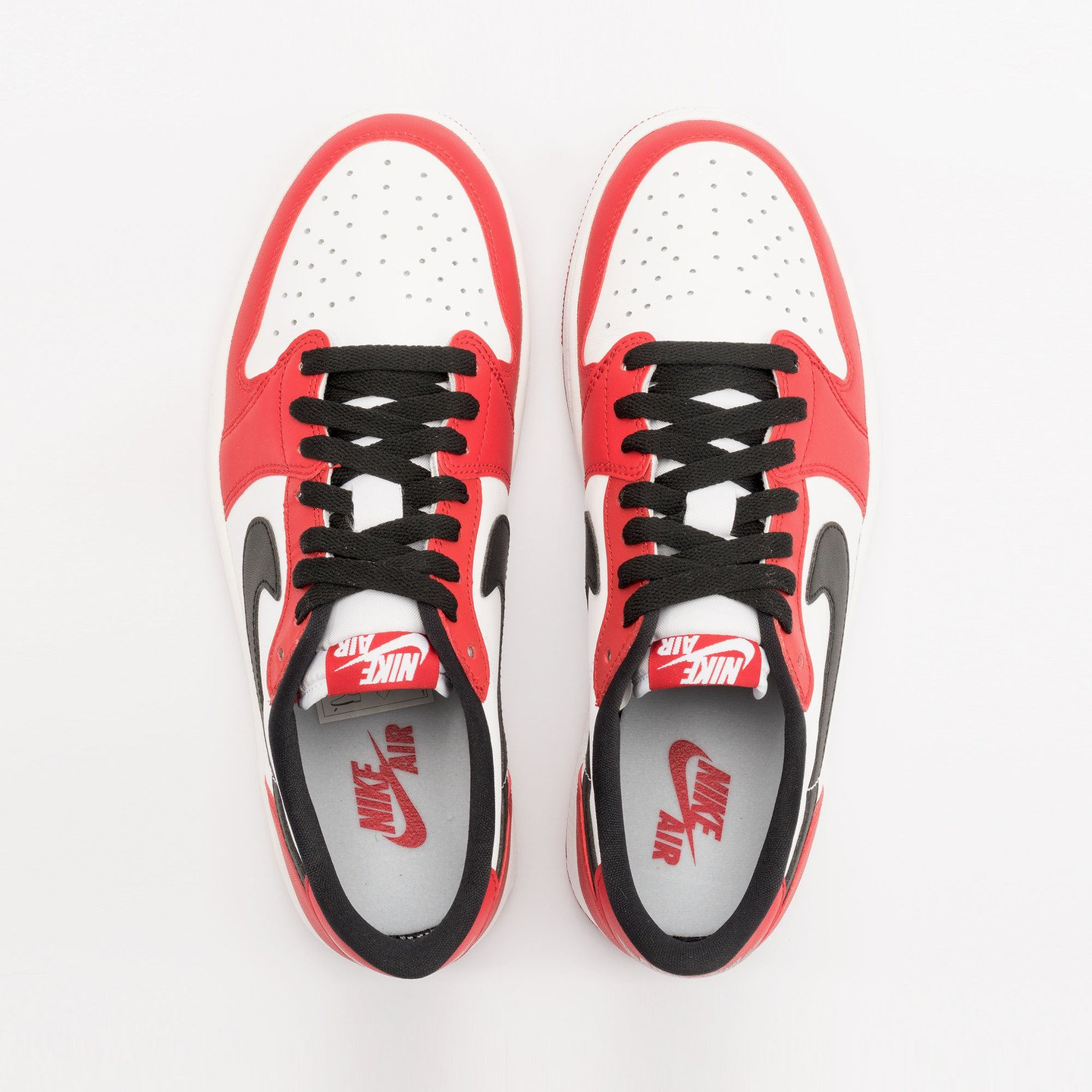 Nike Air Jordan 1 Retro Low OG 'Chicago' Varsity Red / Black / White 705329-600-45