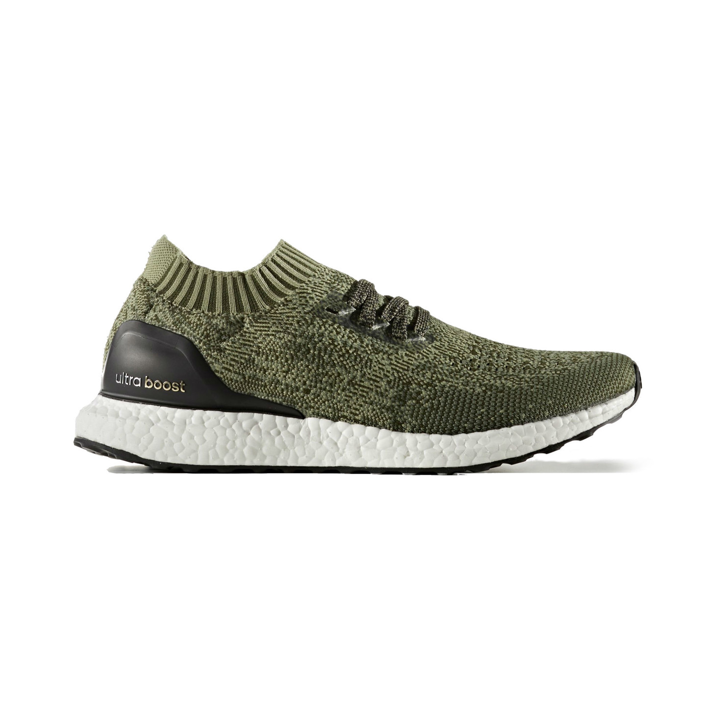 Adidas Ultra Boost Uncaged Base Green / Core Black BB3901-44.66