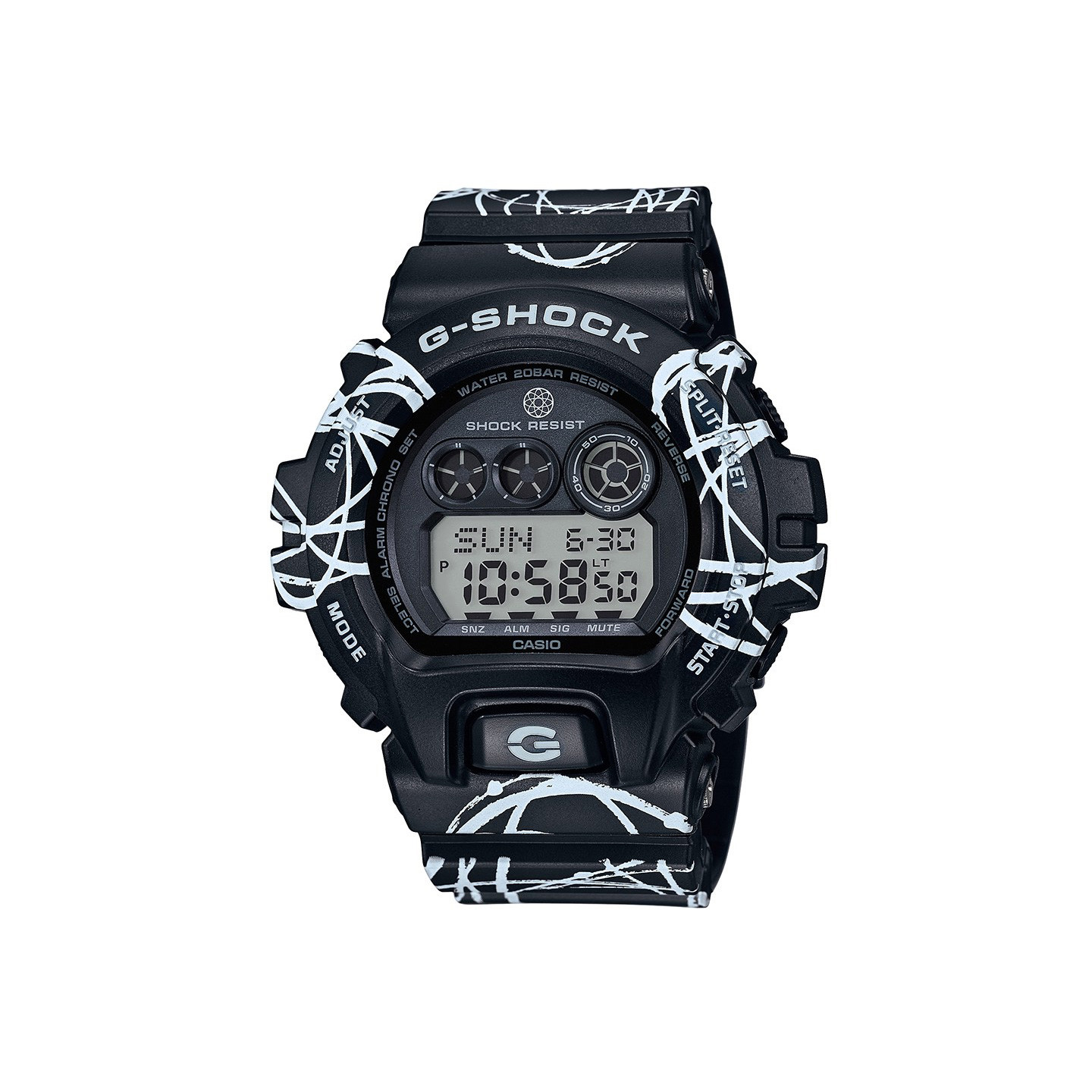 Casio G-Shock x Futura Black / White GD-X6900FTR-1ER