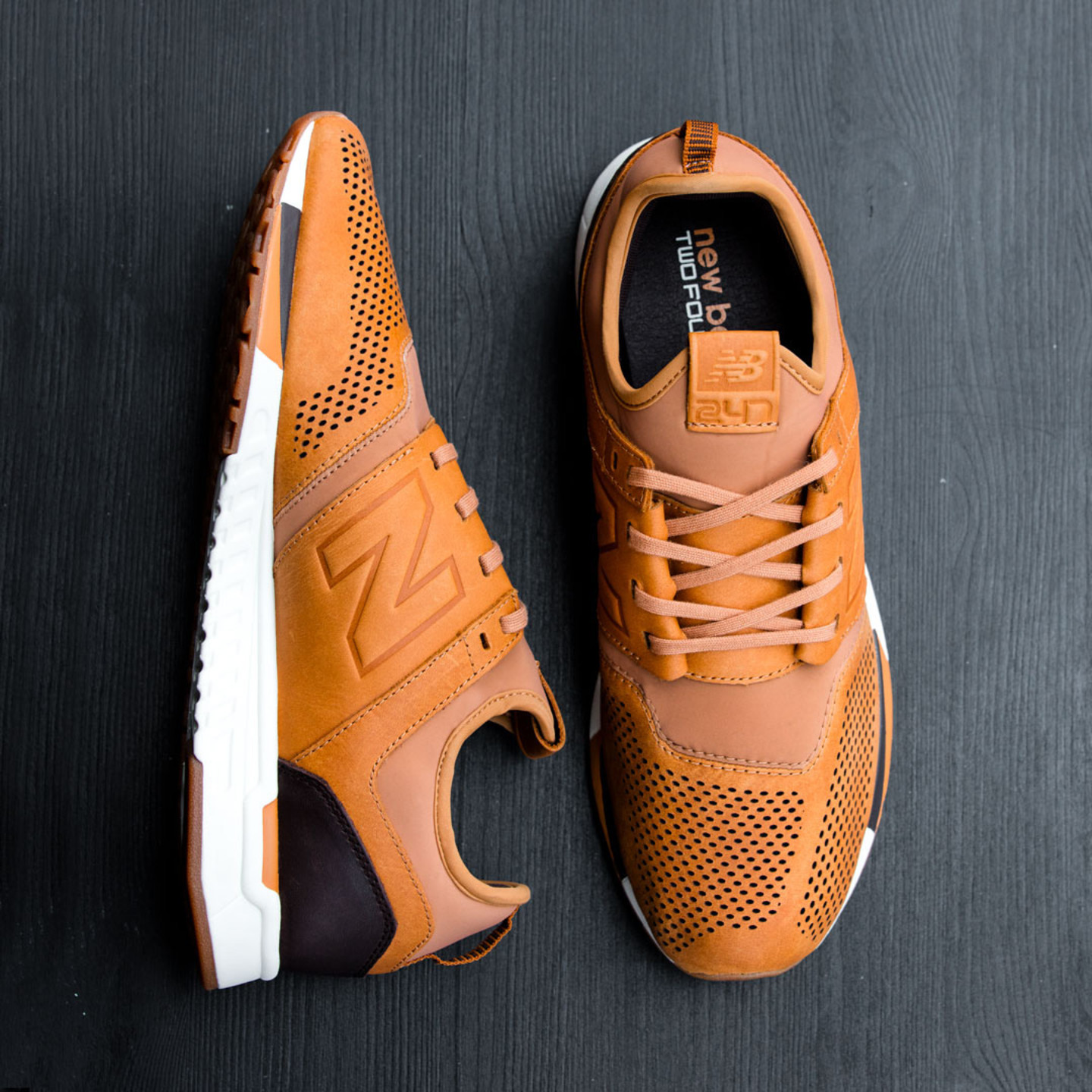 New Balance MRL 247 'Luxe Pack' Tan / Cream / Dark Brown MRL247TA-44.5