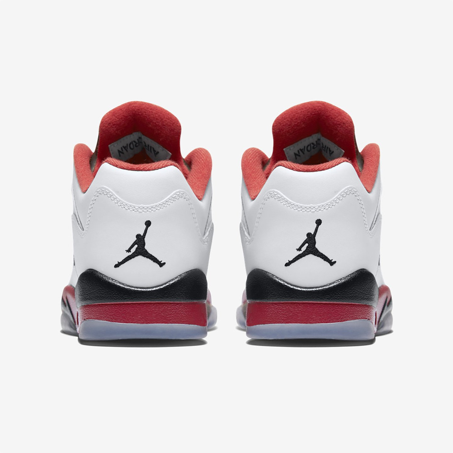 Jordan Air Jordan 5 Low Retro GS 'Fire Red' White / Fire Red / Black 314338-101-38