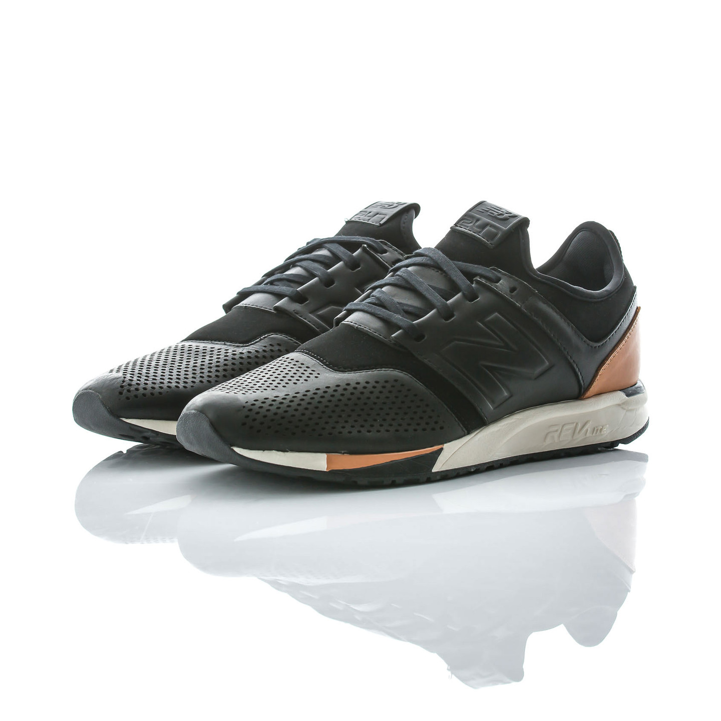 New Balance MRL 247 'Luxe Pack' Black / Brown / Cream MRL247BL-42