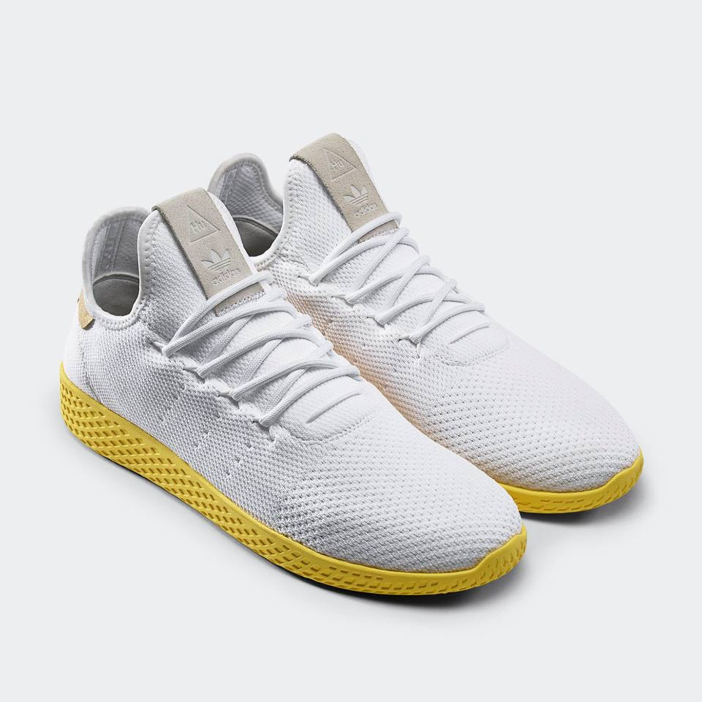 Adidas PW Tennis HU Ftwwht / Yellow / Gold BY2674