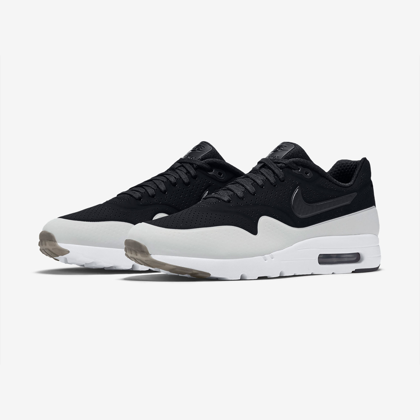 Nike Air Max 1 Ultra Moire Black / White 705297-011-46