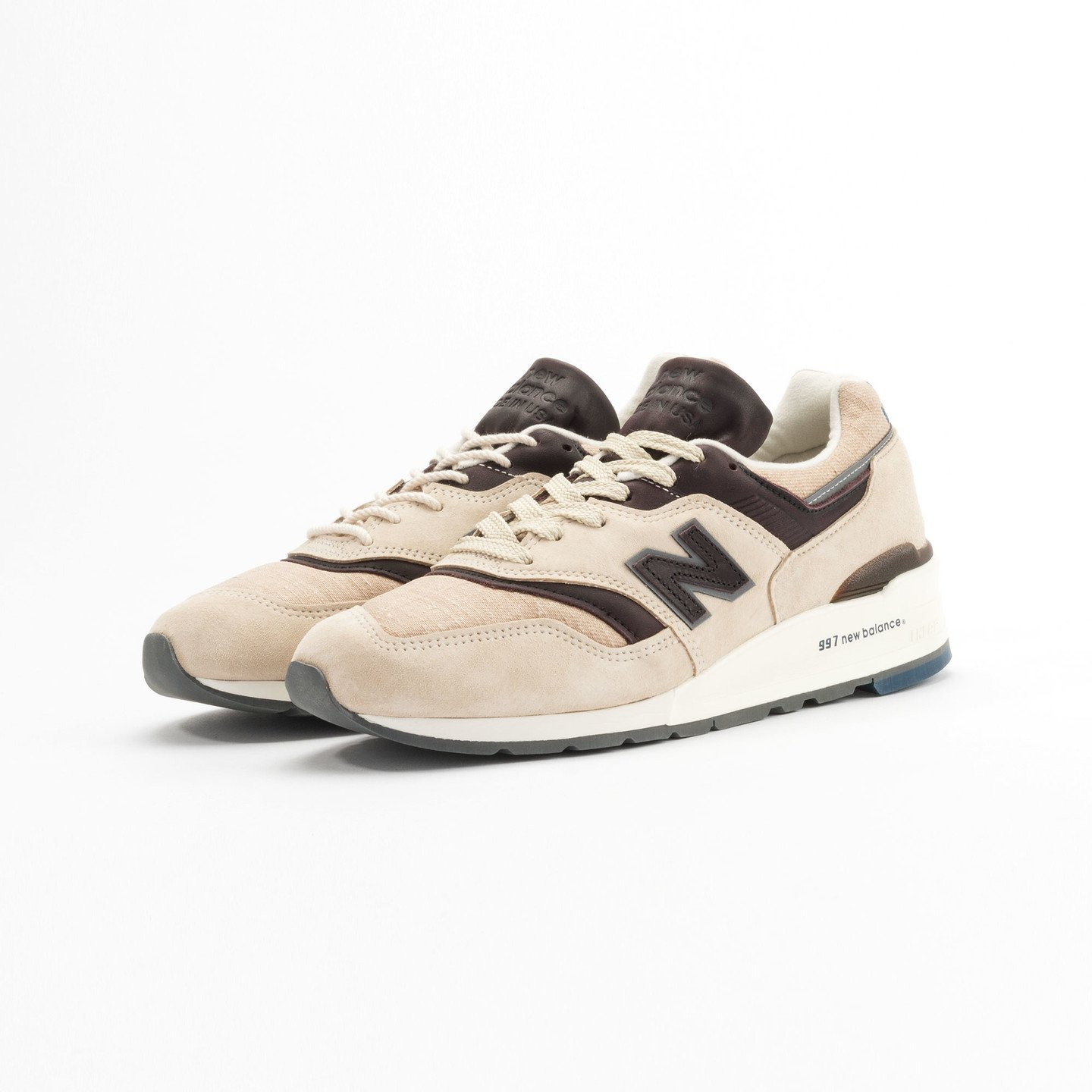 New Balance M997 DSAI - Made in USA Sand / Antique Brown M997DSAI-45