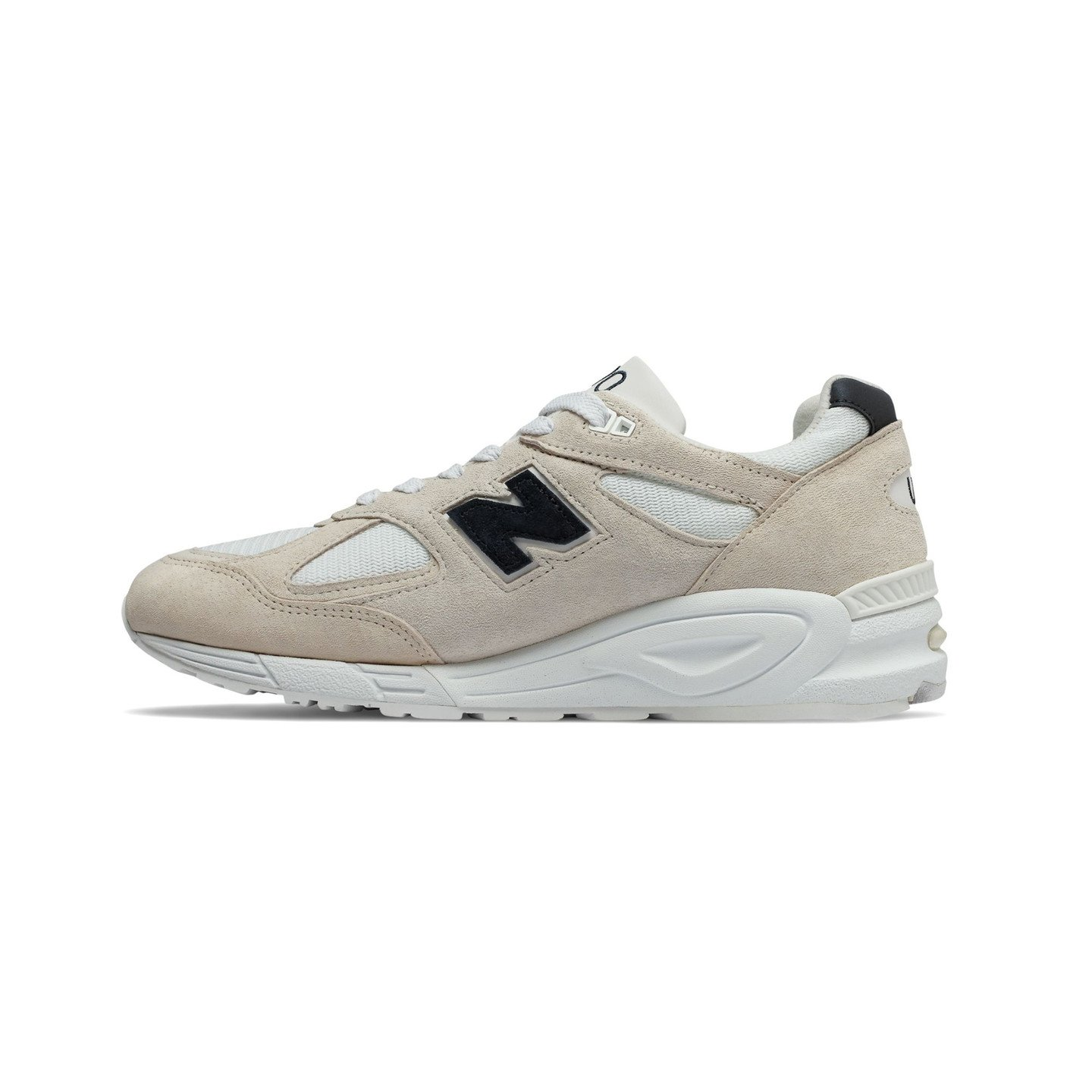 New Balance M990 V2 - Made in USA White / Off White / Navy M990WE2