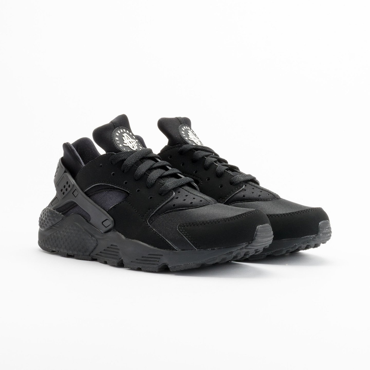Nike Air Huarache Black/Black-White 318429-003-47